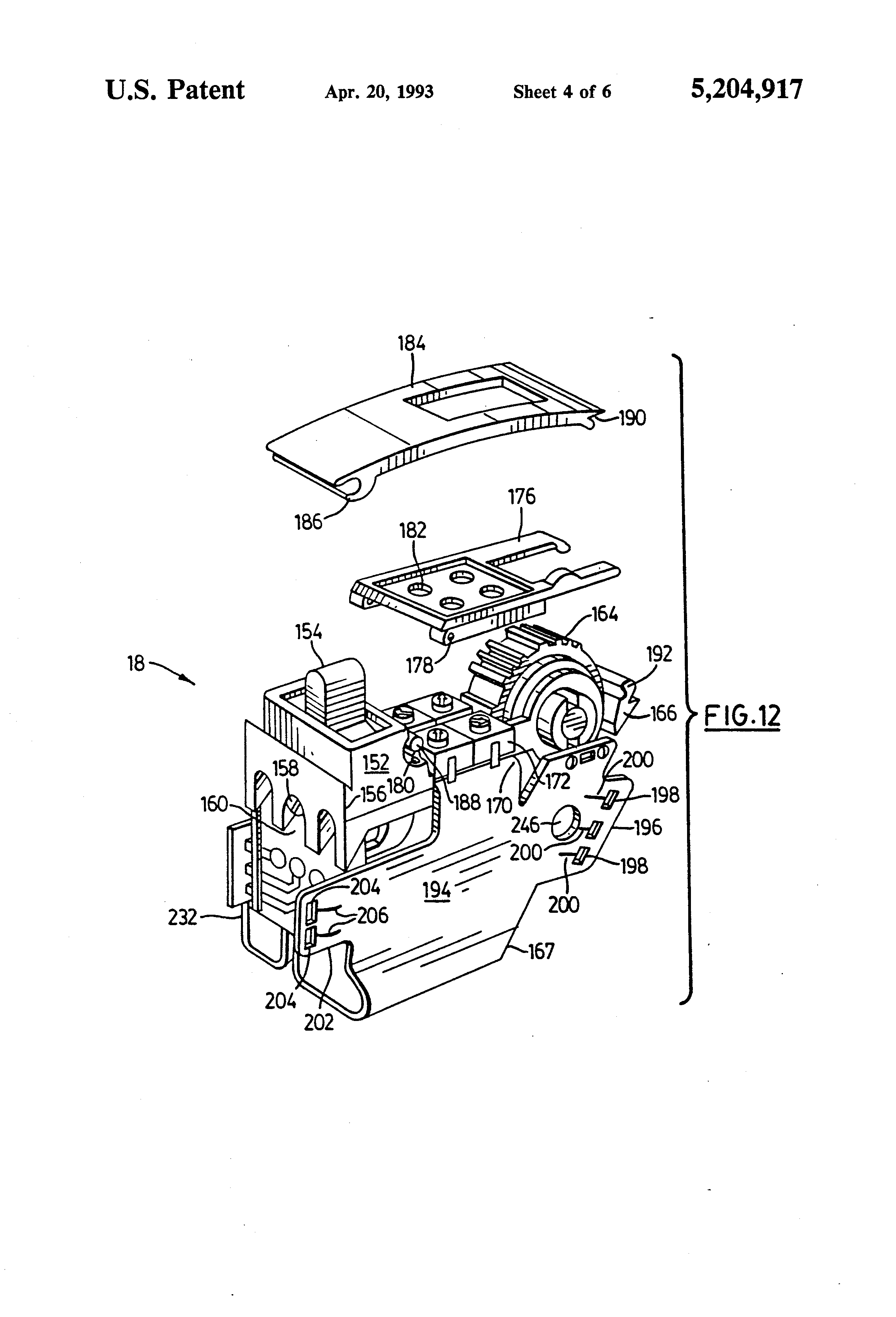 patent us5204917 - modular hearing aid