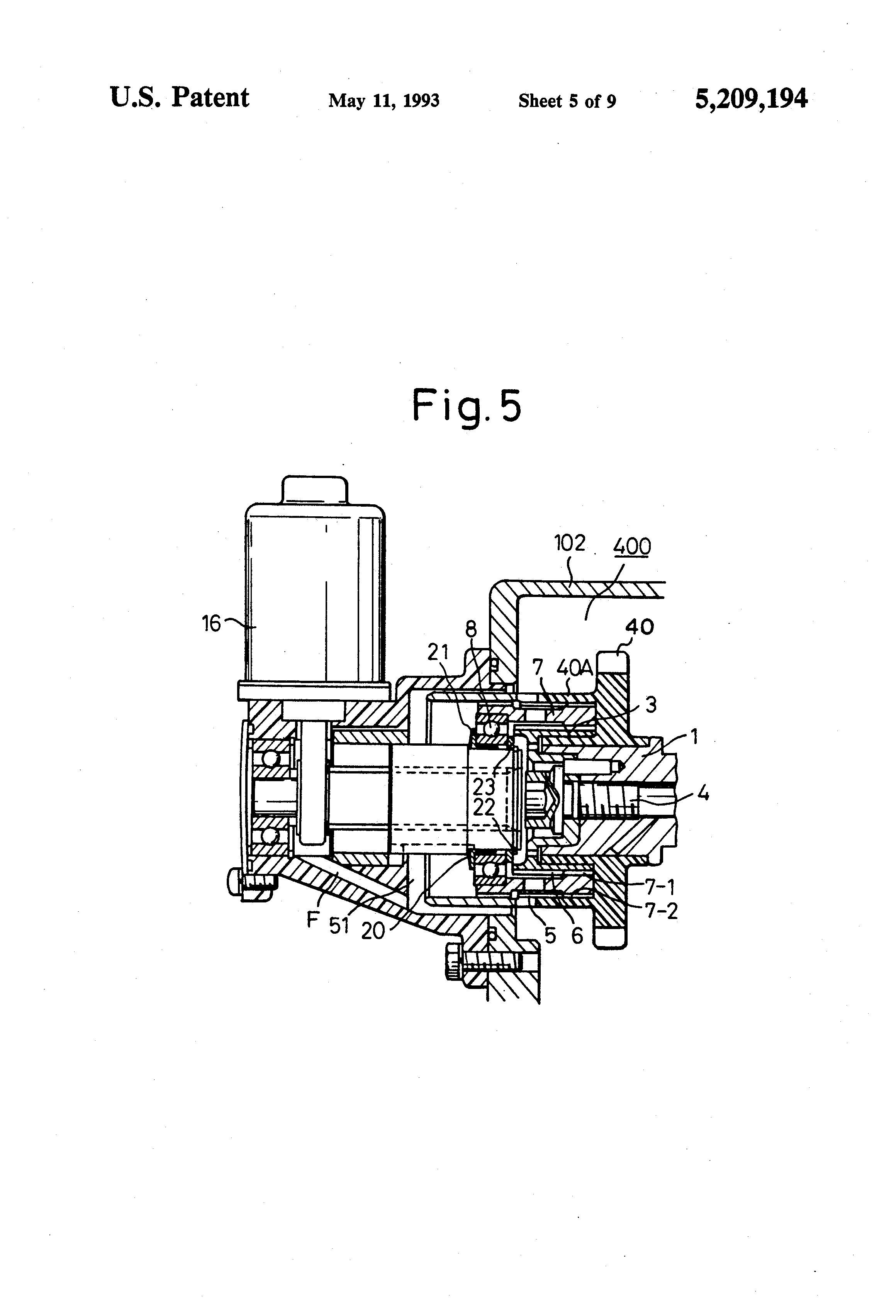 US5209194 on Sleeve Valve Radial Engine