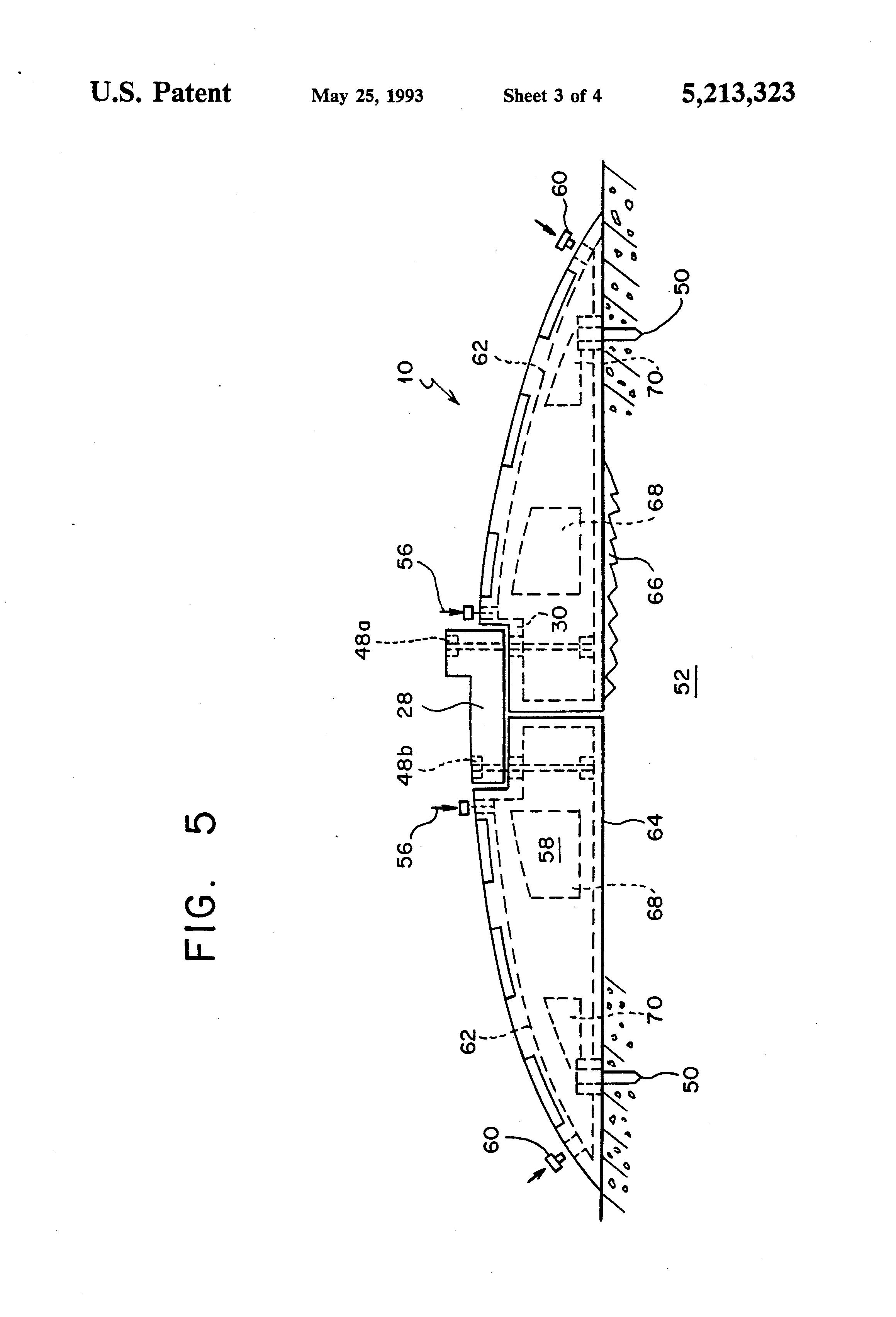 patent us5213323 portable training pitching mound google patents