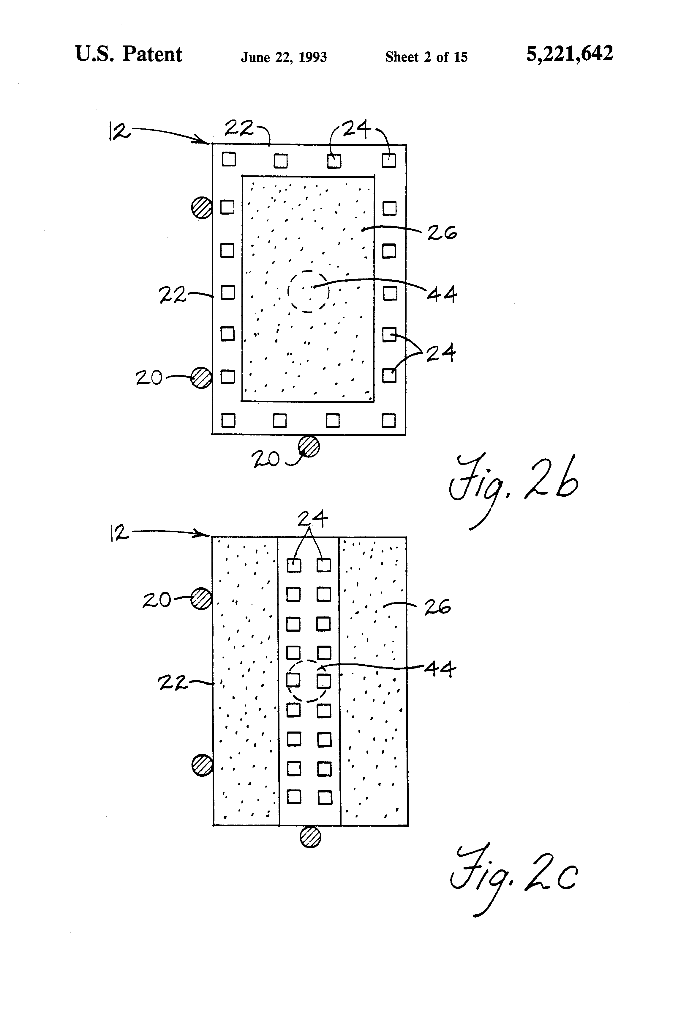 Brevet Us5221642 Lead On Chip Integrated Circuit