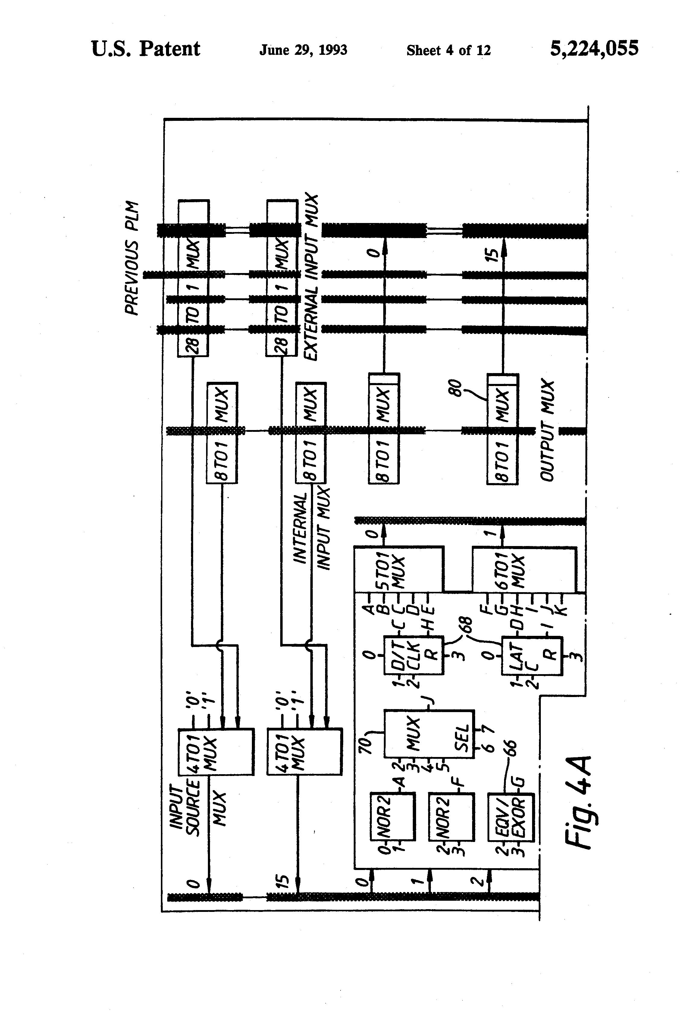 patent us5224055 - machine for circuit design