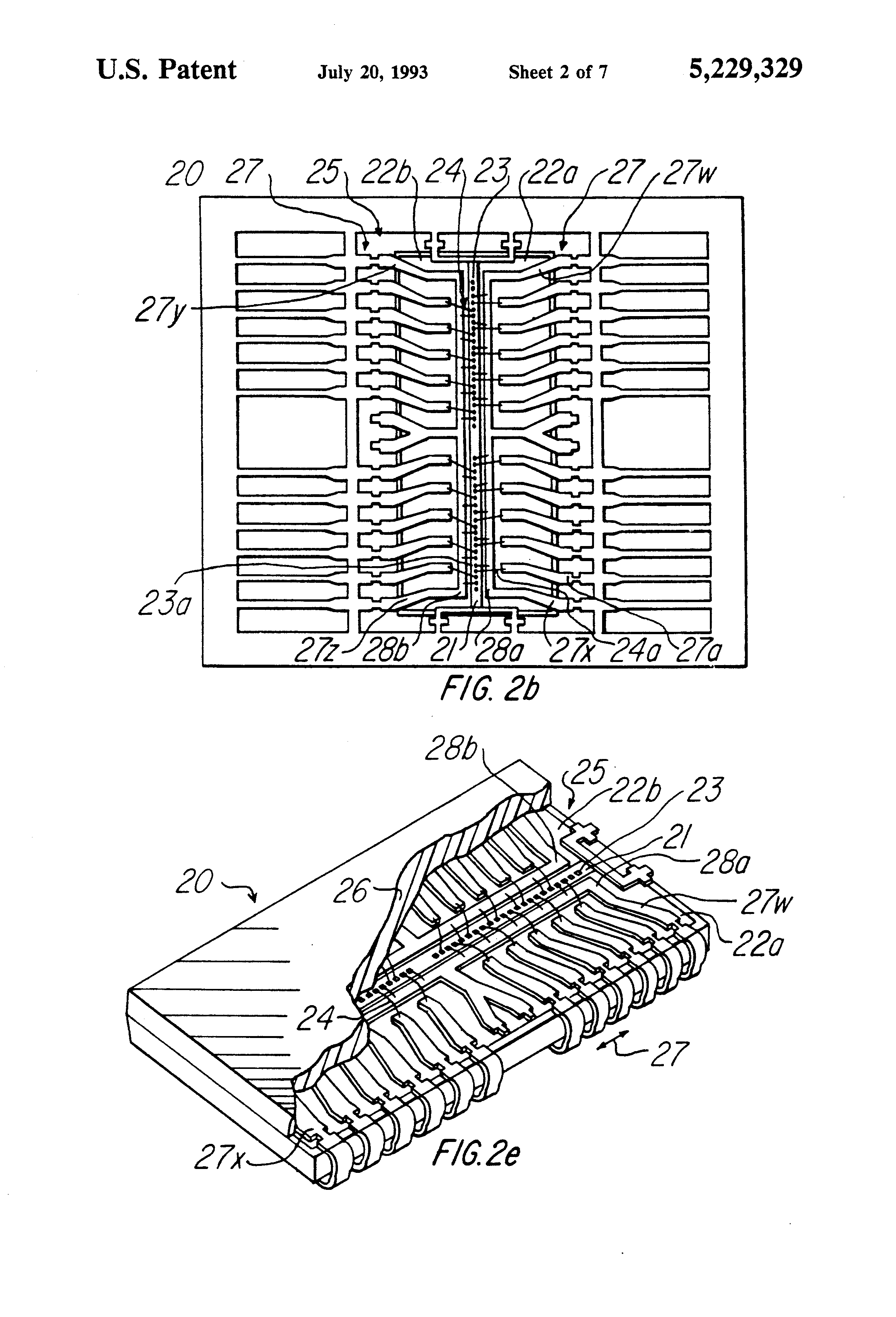 patent us5229329 - method of manufacturing insulated lead frame for integrated circuits
