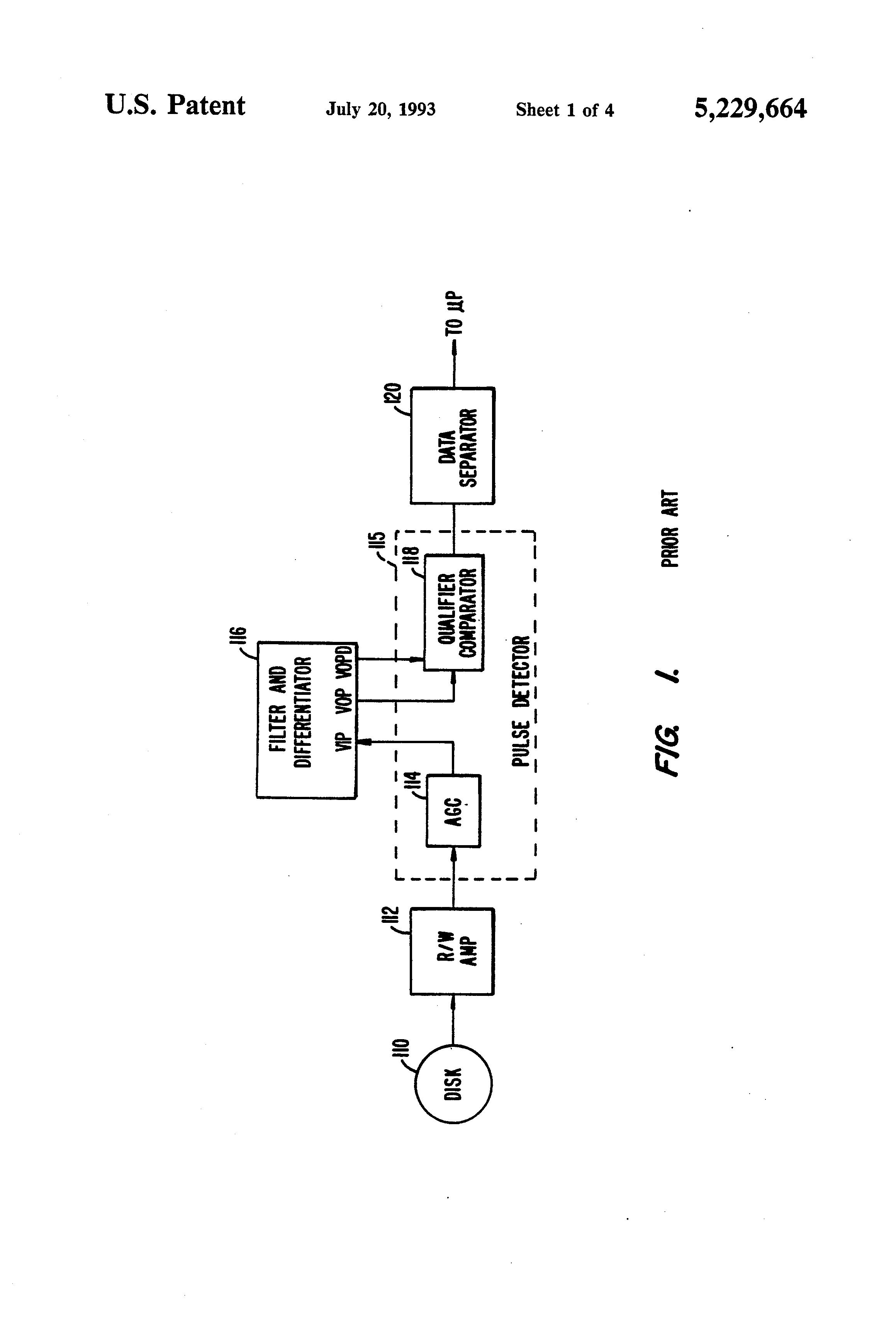 براءة الاختراع US5229664 - Programmable differentiator delay