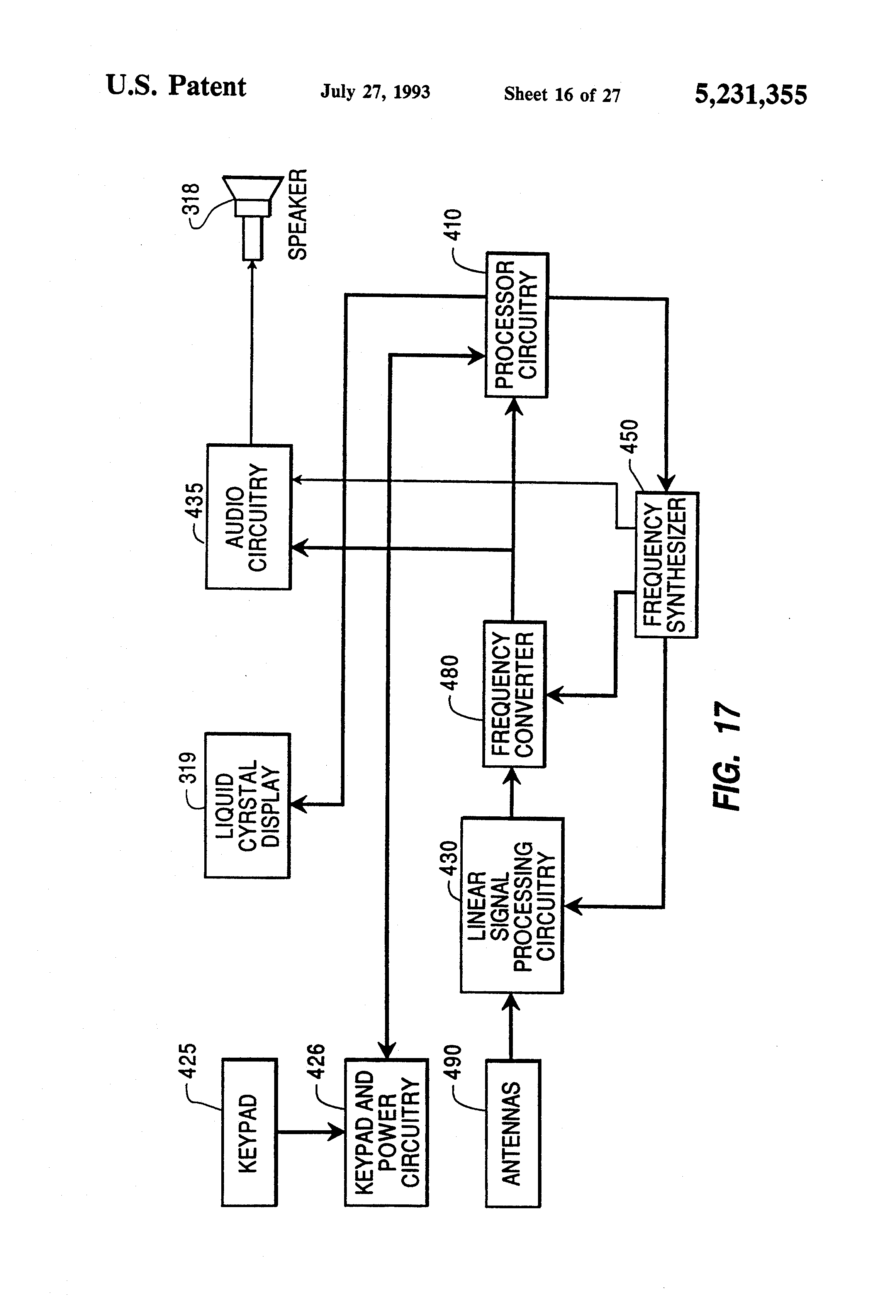 Patent Us5231355 Locator Transmitter Having An Automatically Tuned Peak Detector Circuit Using Lm393 Electronic Circuits And Diagram Drawing