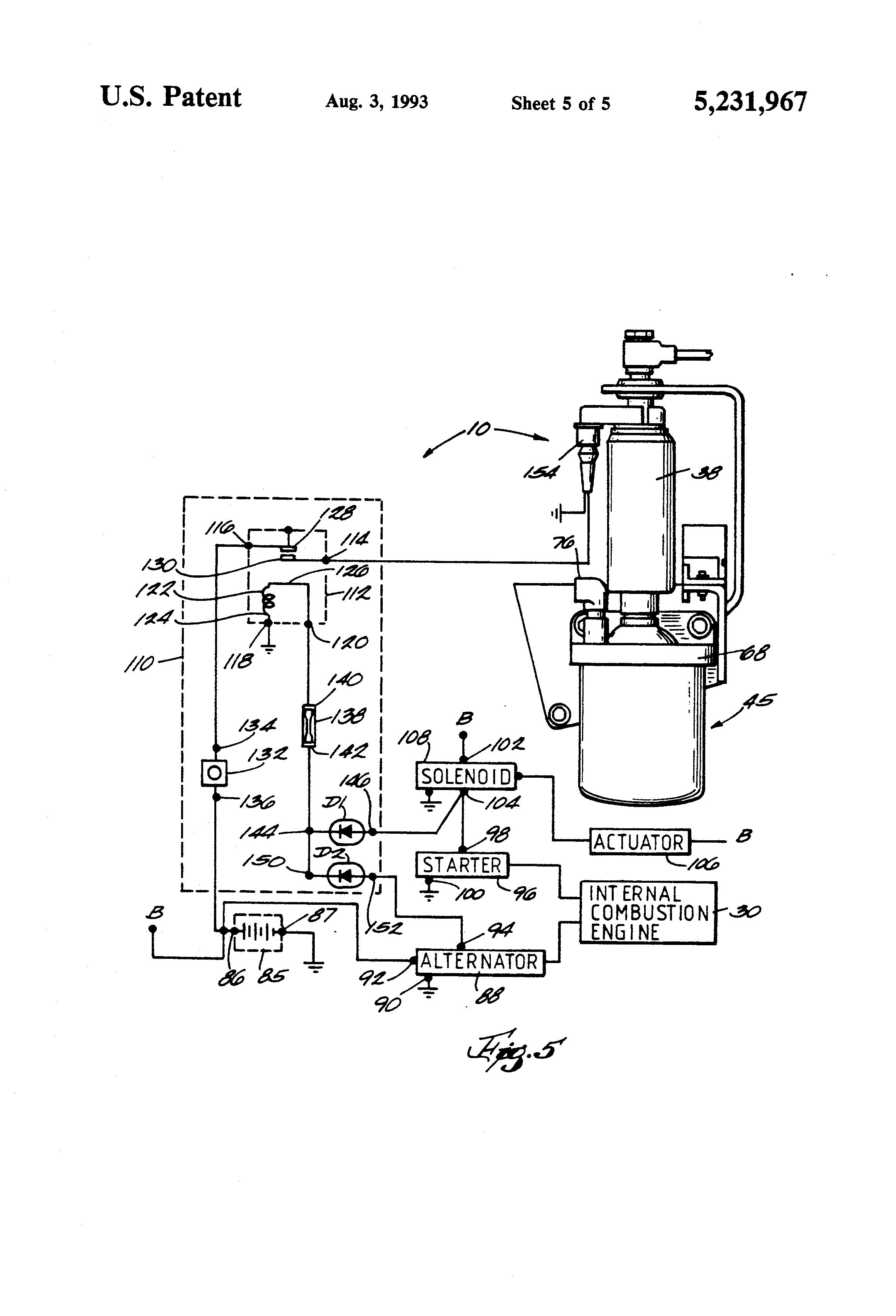 patent us5231967