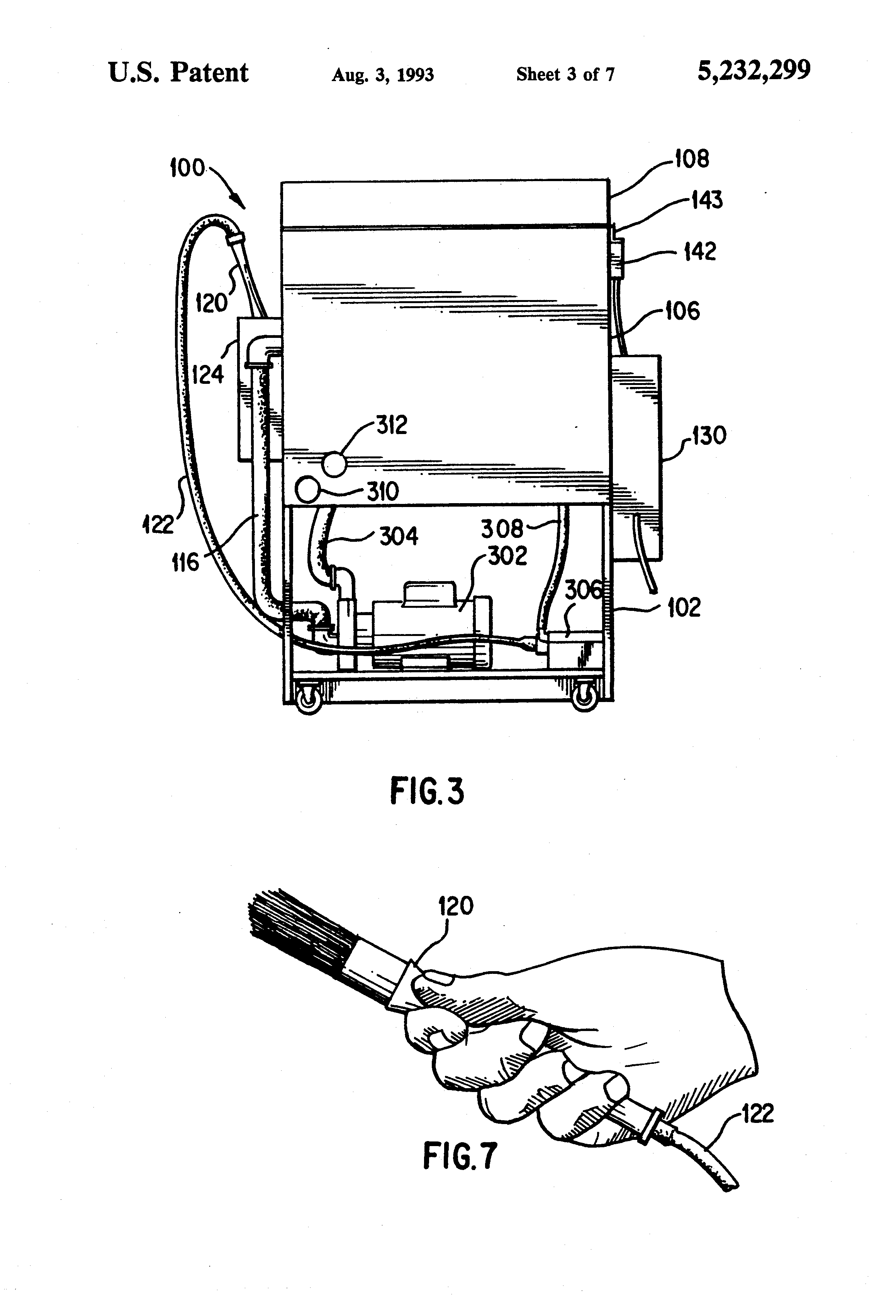 Patent Us5232299 Parts Washer Google Patents
