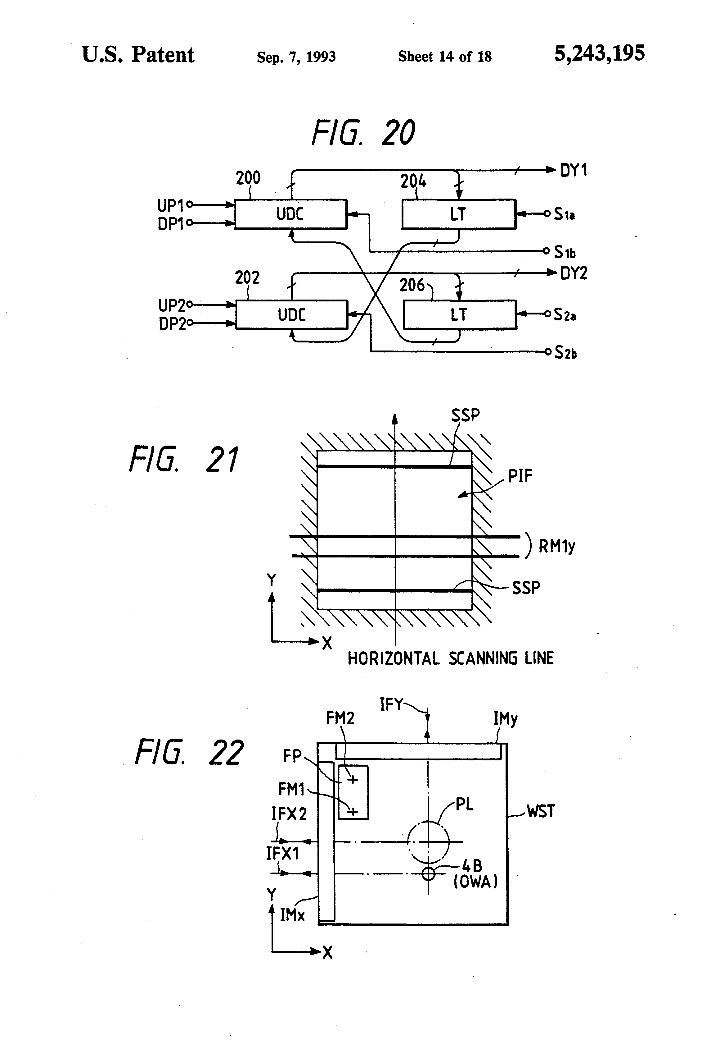 Patent Us5243195 Projection Exposure Apparatus Having An Off Axis Electronic Locks Circuit Principle Is Shown In Fig Icl Dedicated Lock Drawing
