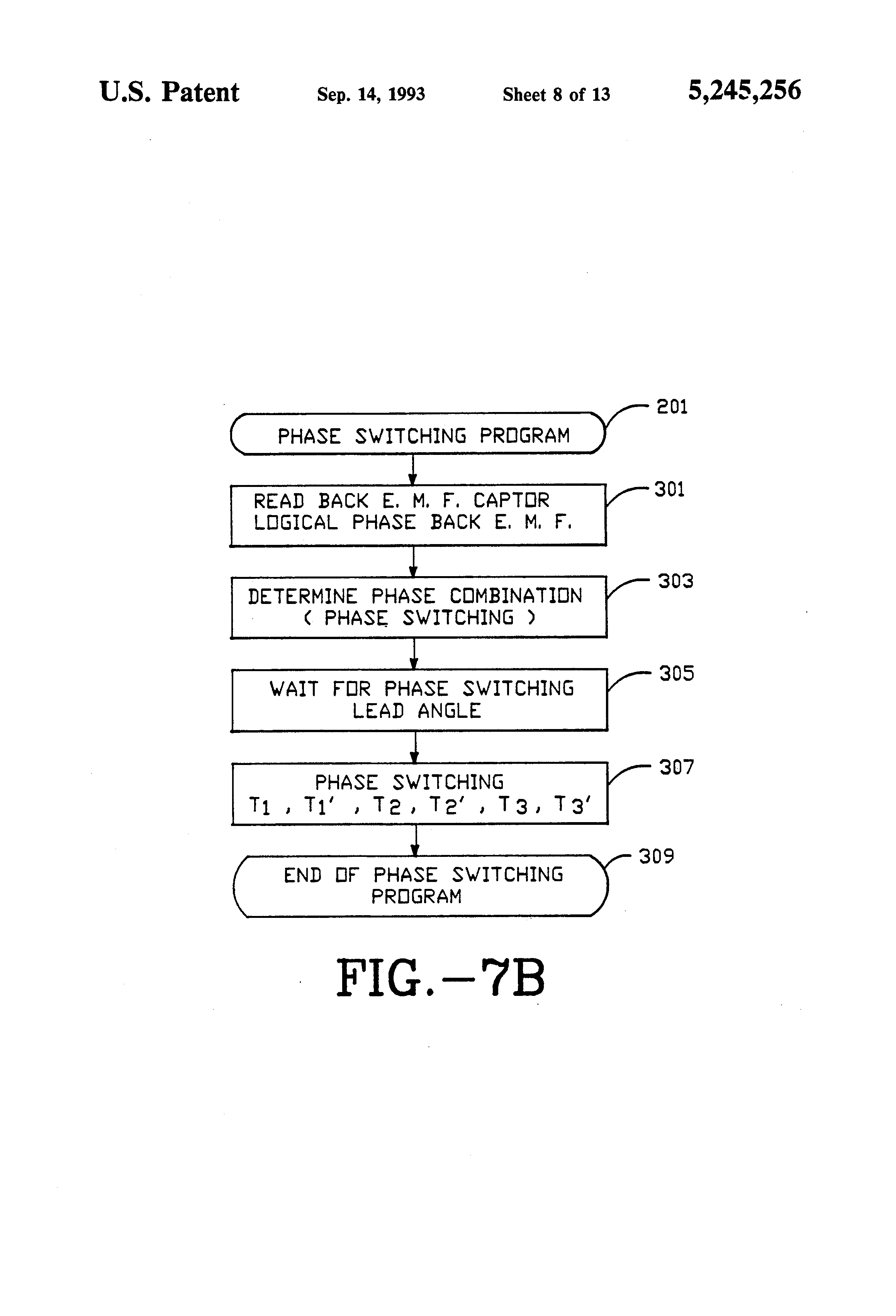 Patent Us5245256 Closed Loop Control Of A Brushless Dc Motor At Figure 4 Circuit With The Drawing