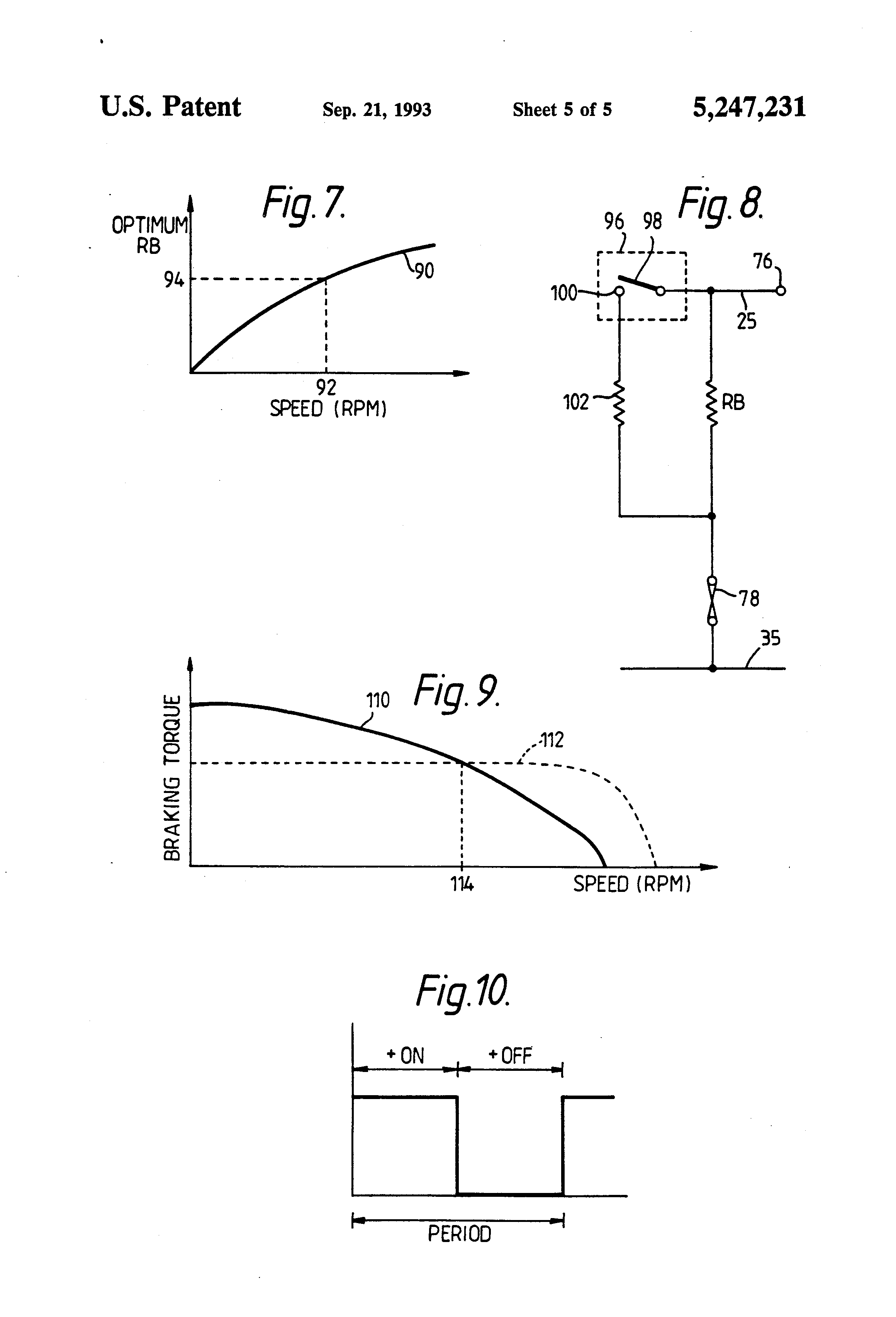 Patent us5247231 methods of and or apparatus for braking for Electronically commutated motor ecm