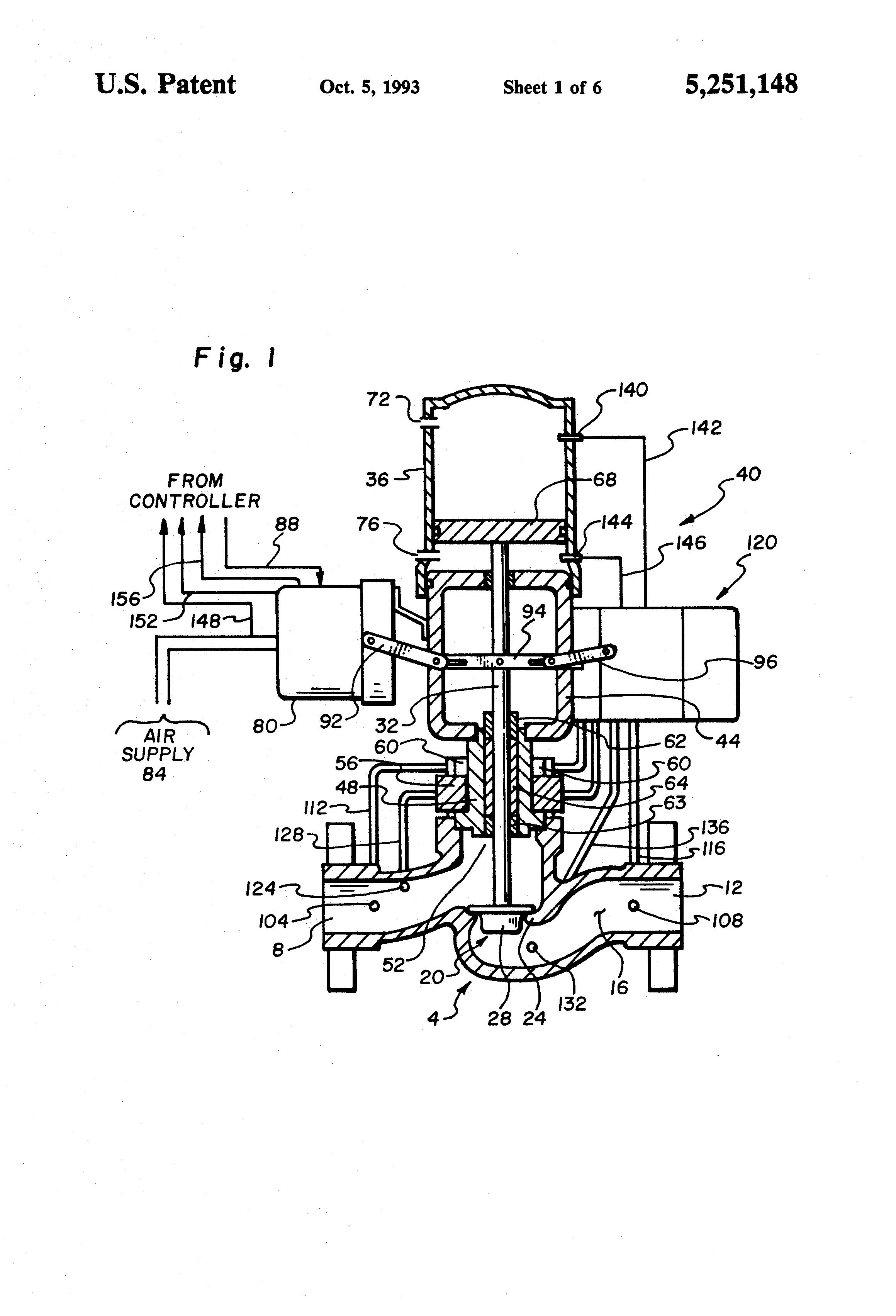 Patent us5251148 integrated process control valve google patents patent drawing nvjuhfo Choice Image