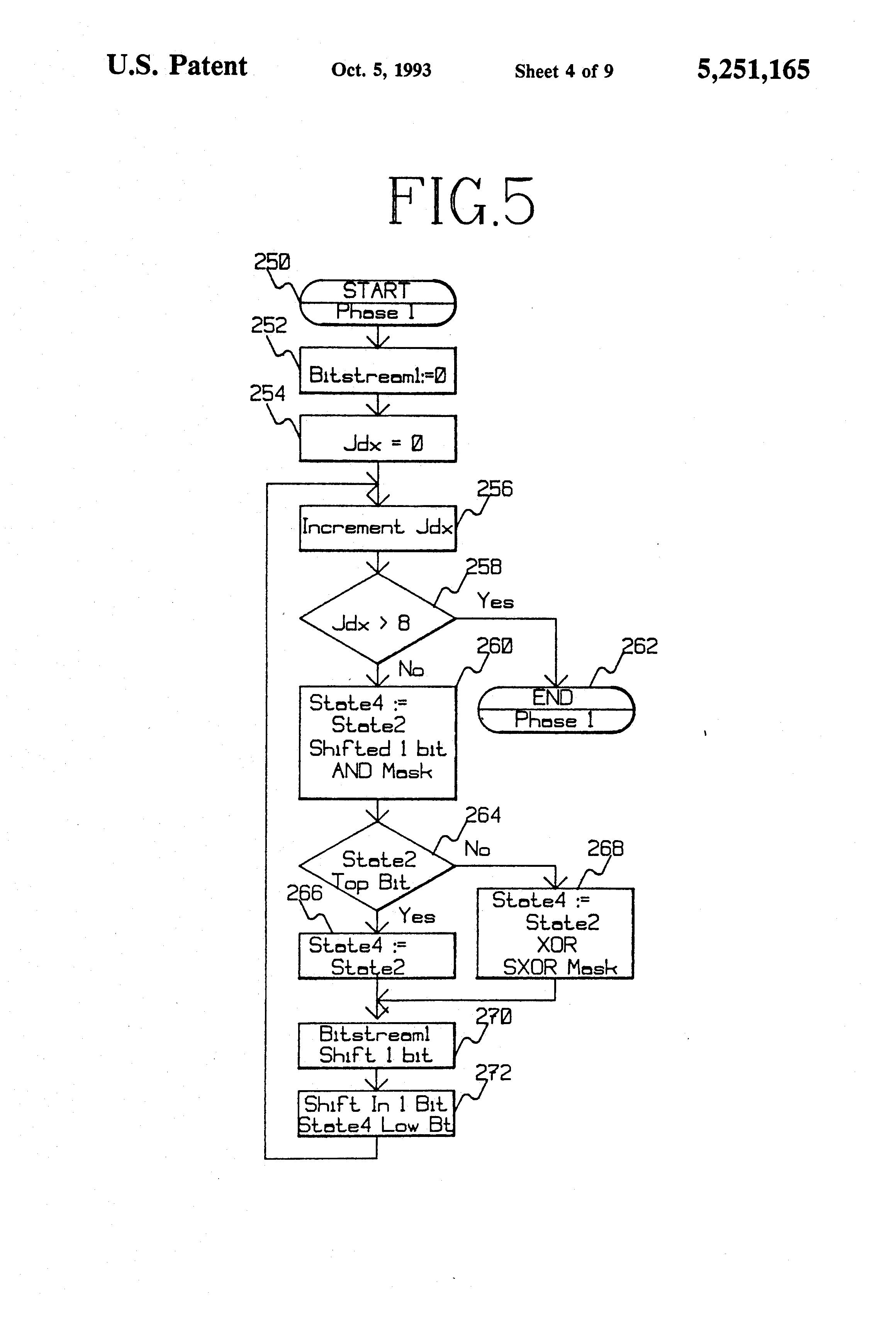 patent us5251165