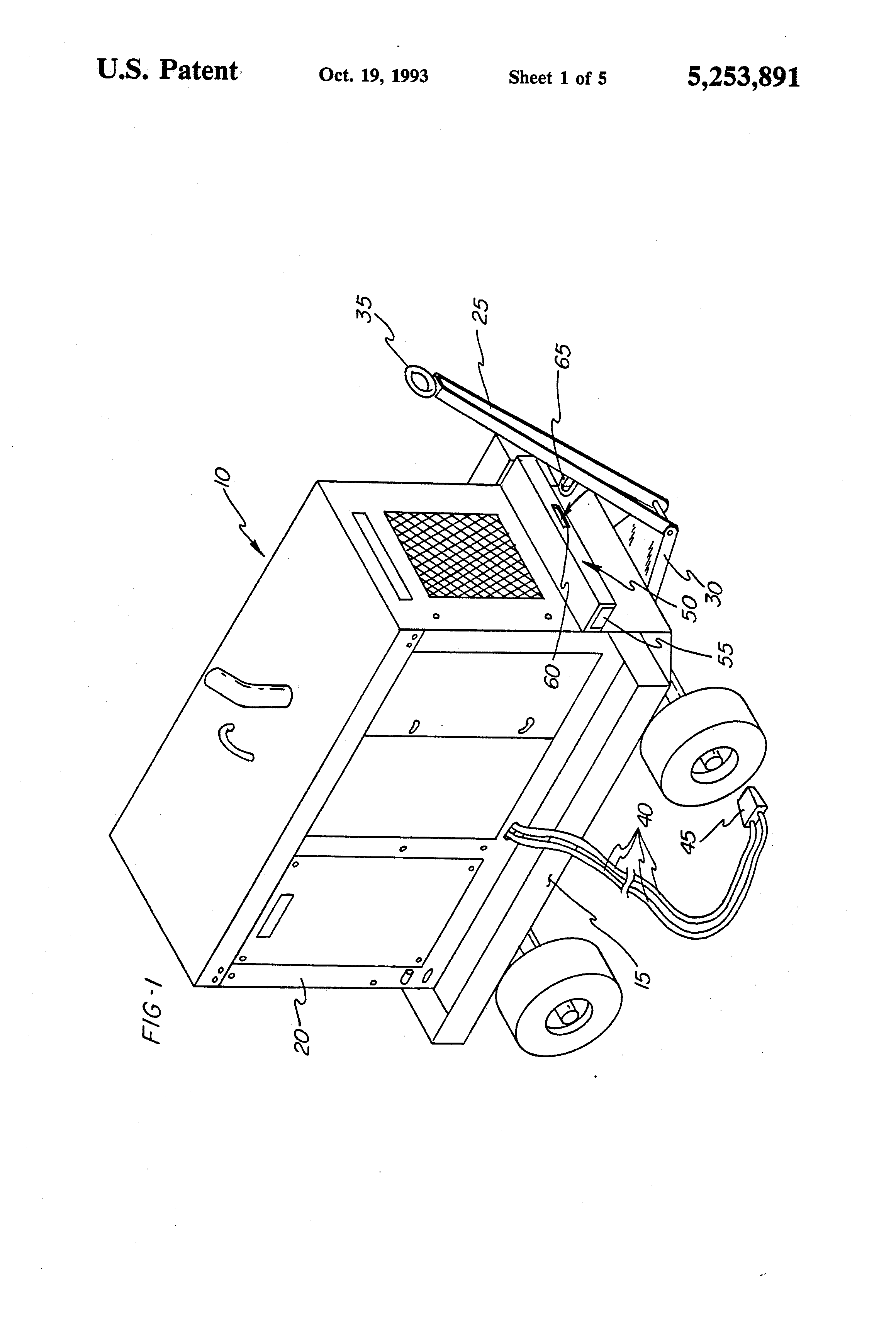 Patent Us5253891 Safety Interlock Mechanism For Aircraft
