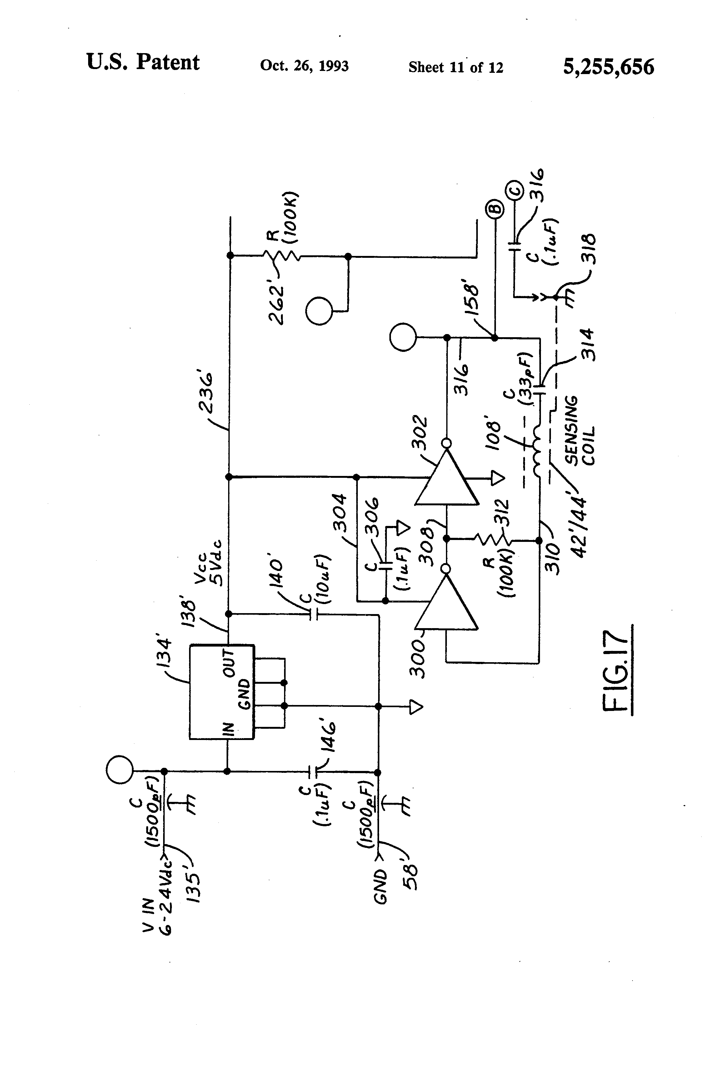 patent us5255656 - alcohol concentration sensor for automotive fuels