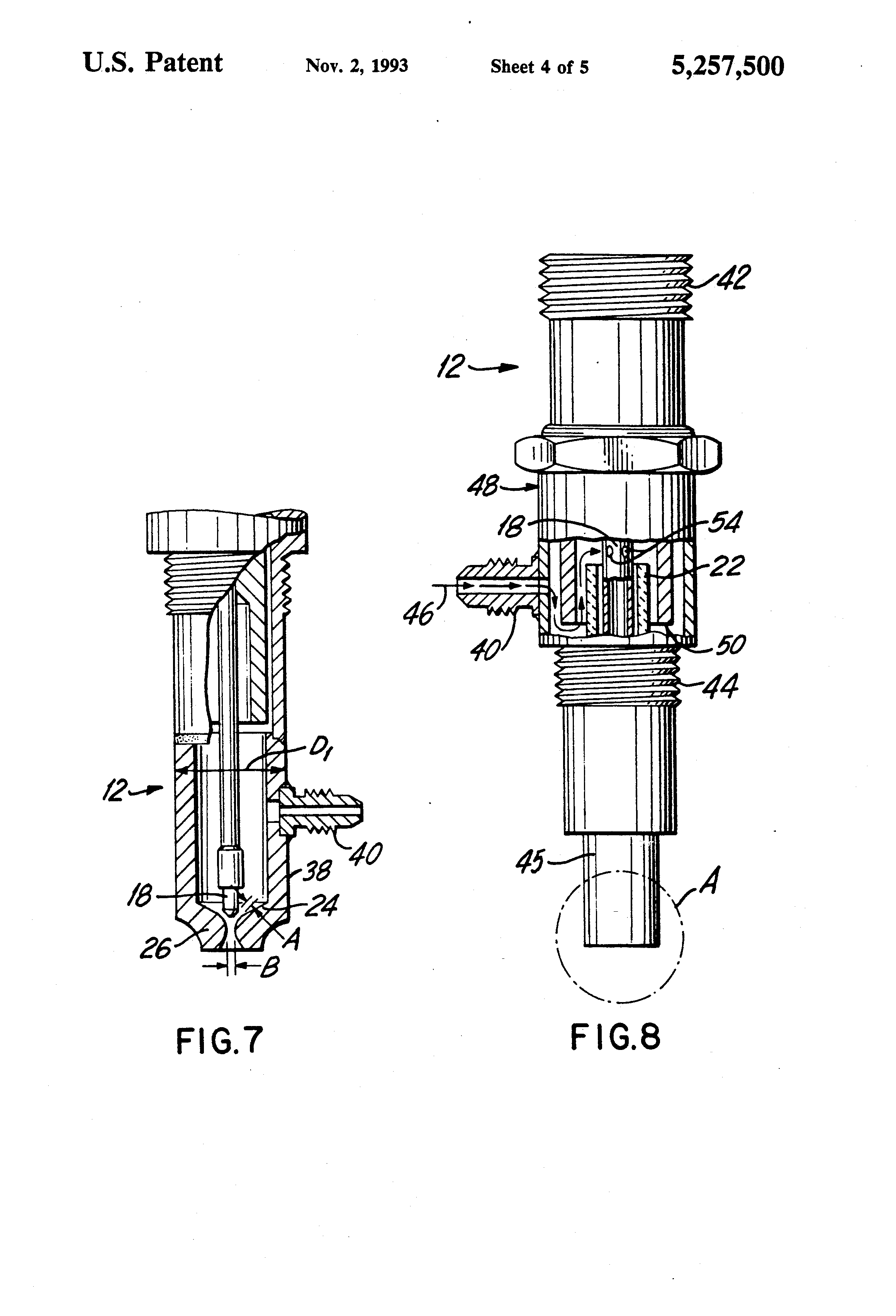 patent us5257500 - aircraft engine ignition system