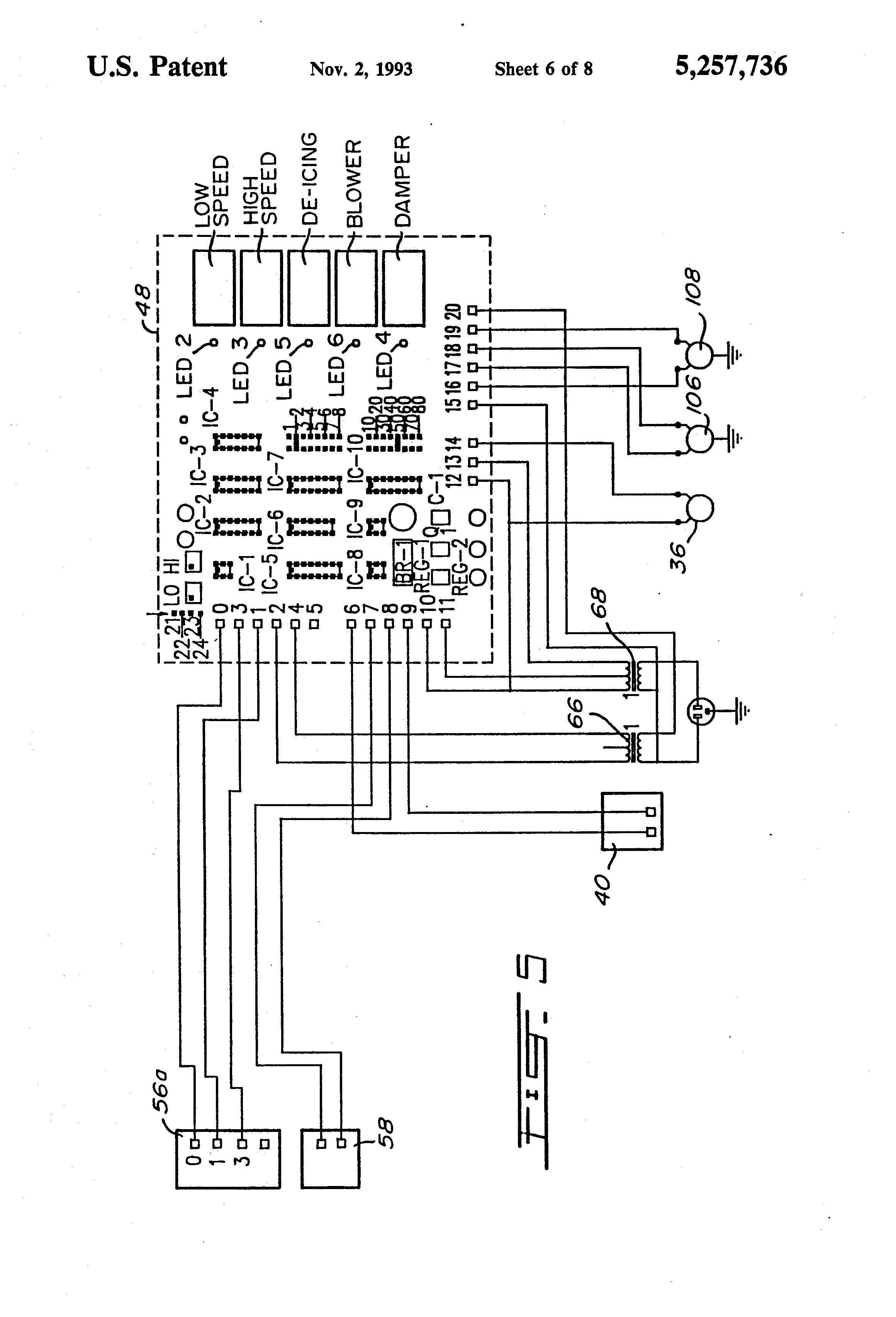 patent us5257736 - self-regulating air ventilation apparatus