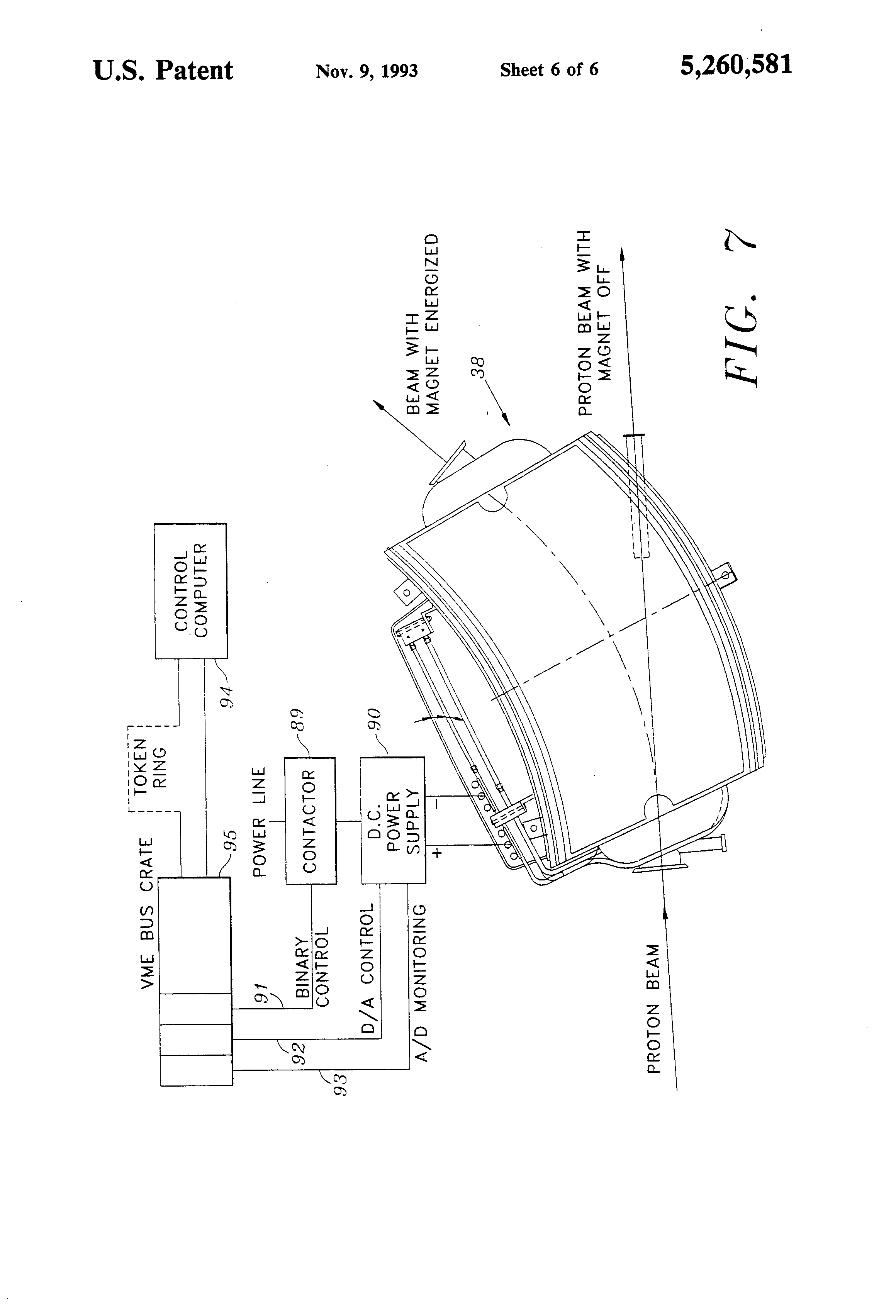 Patent us5260581 method of treatment room selection for Room design method nfpa 13