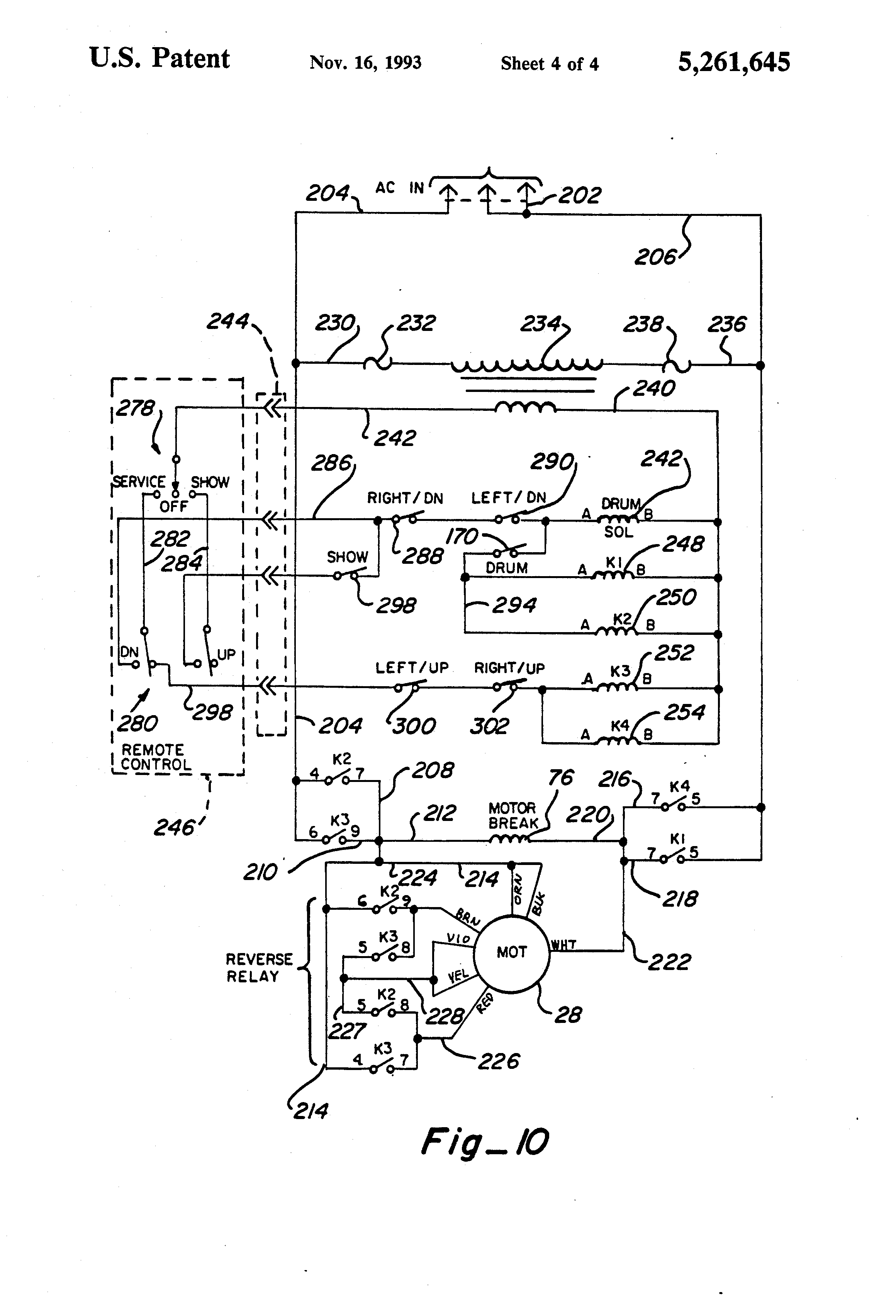 patent us5261645 - projector ceiling lift