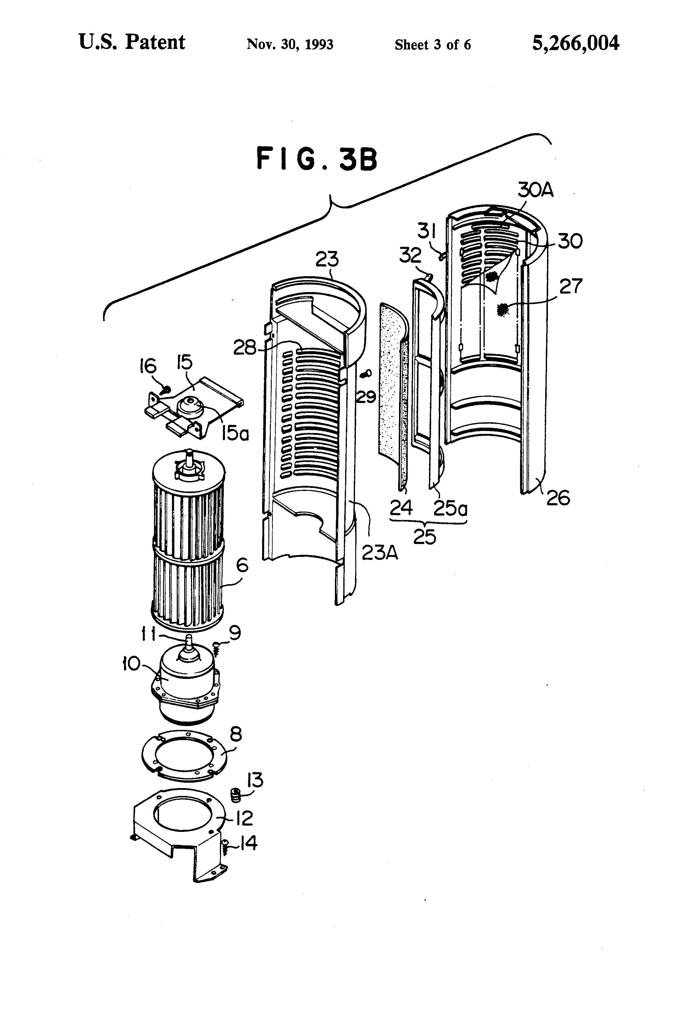 Patente Us5266004 Blower Google Patentes Gem Wiring Diagram 26 Patent Drawing