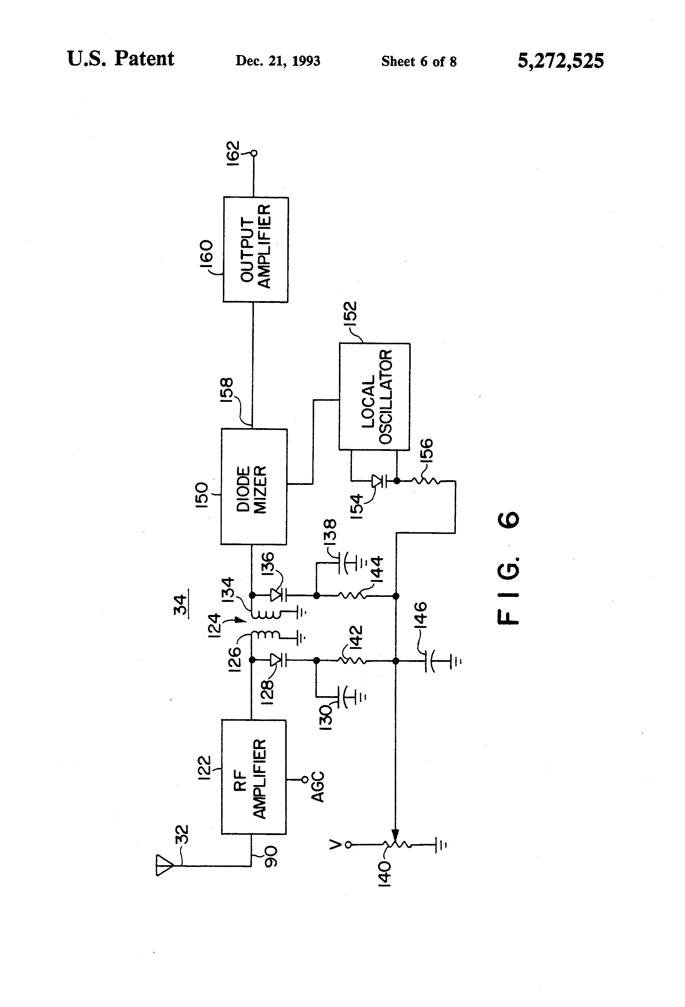 patent us5272525
