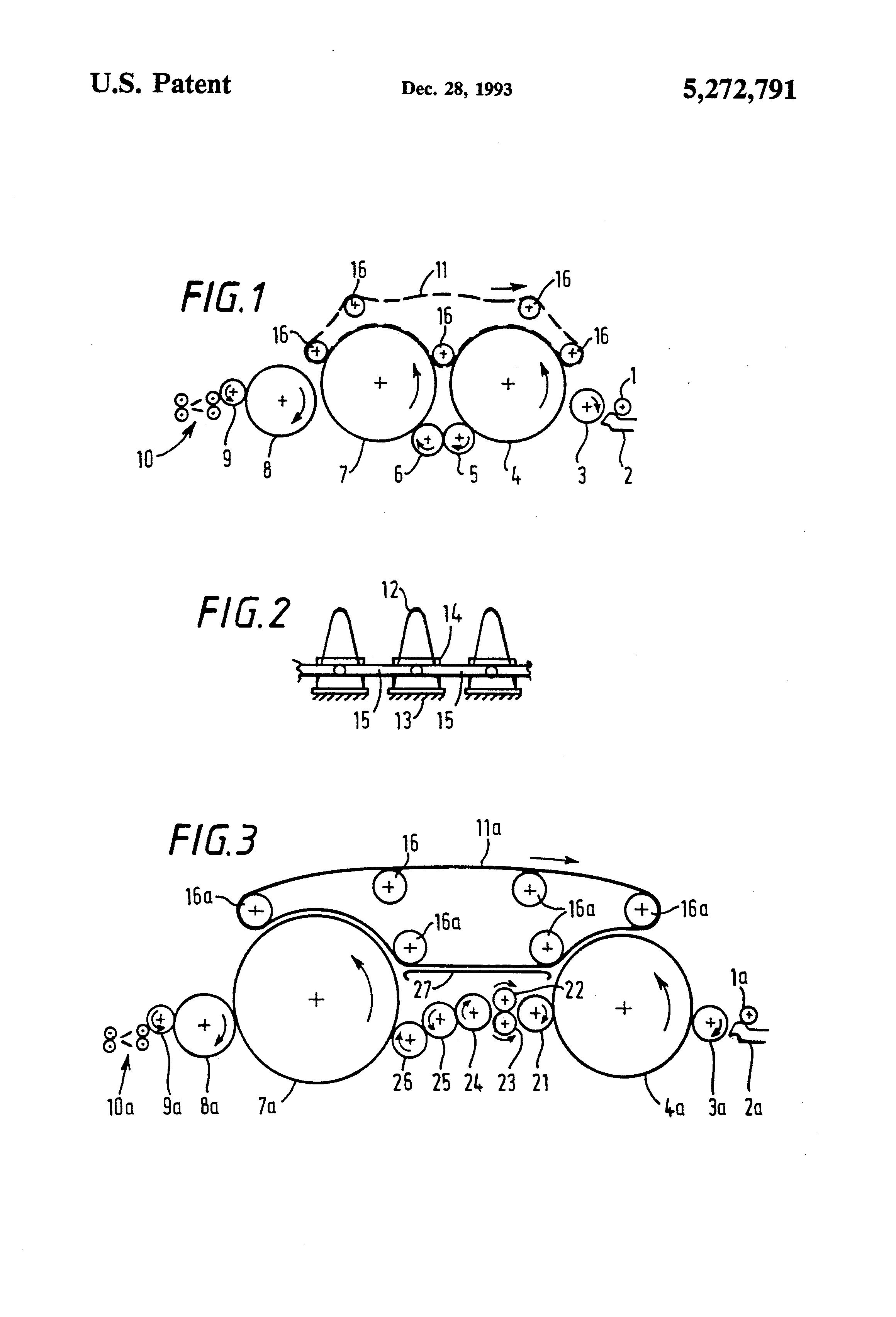 Patent US5272791 - Carding machine - Google Patents