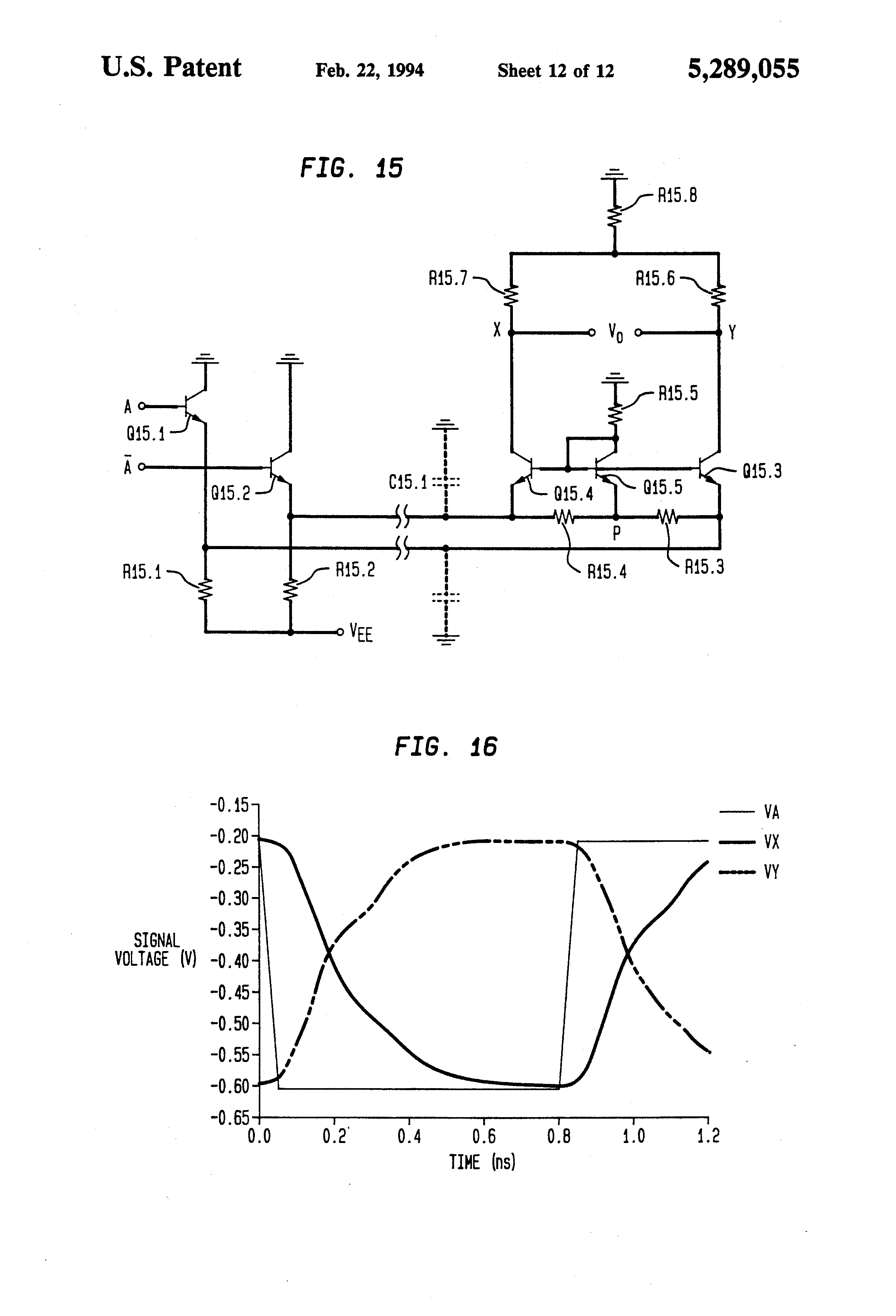 Patent Us5289055 Digital Ecl Bipolar Logic Gates Suitable For Low Circuit Simulator Nor Or Drawing