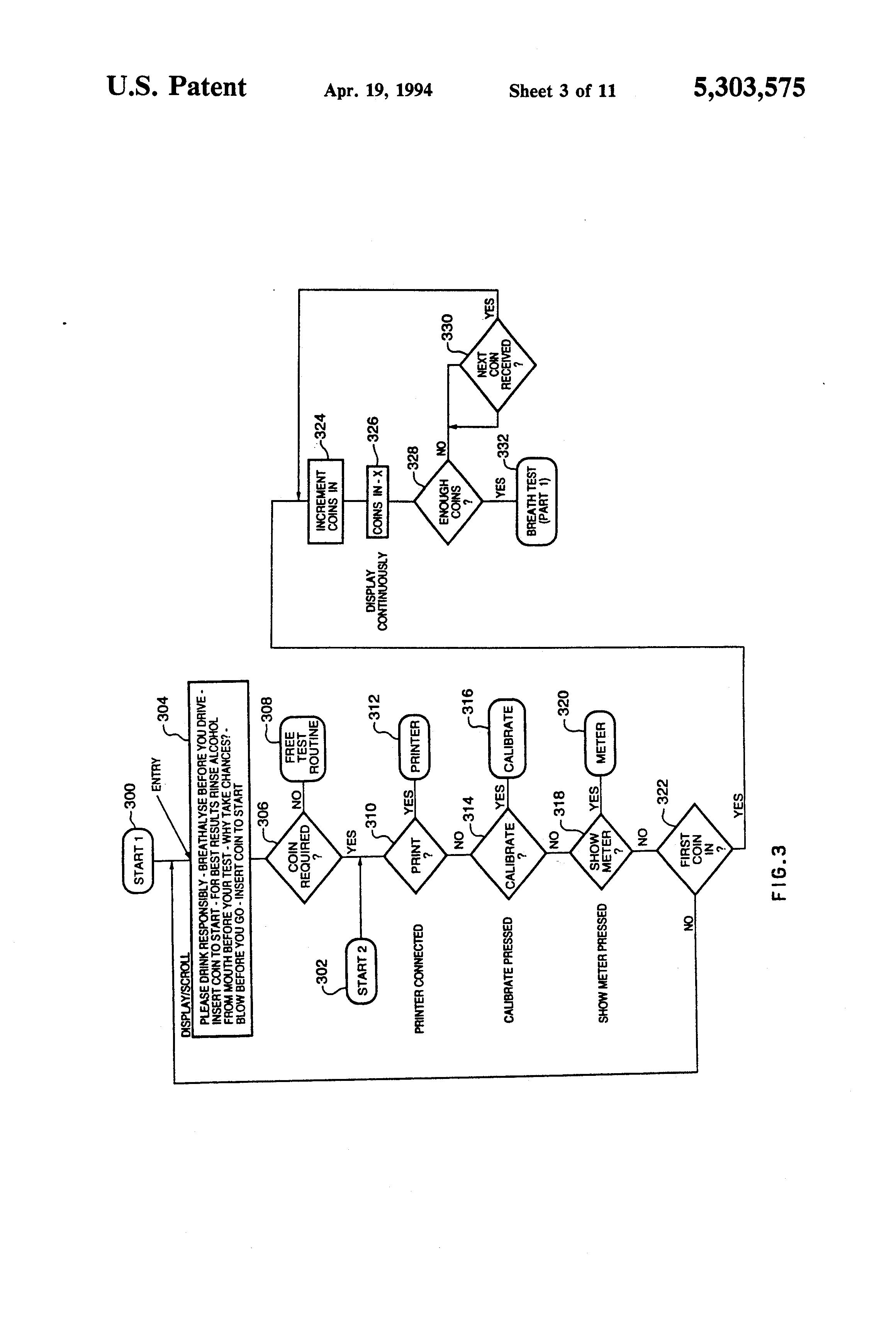 patent us5303575