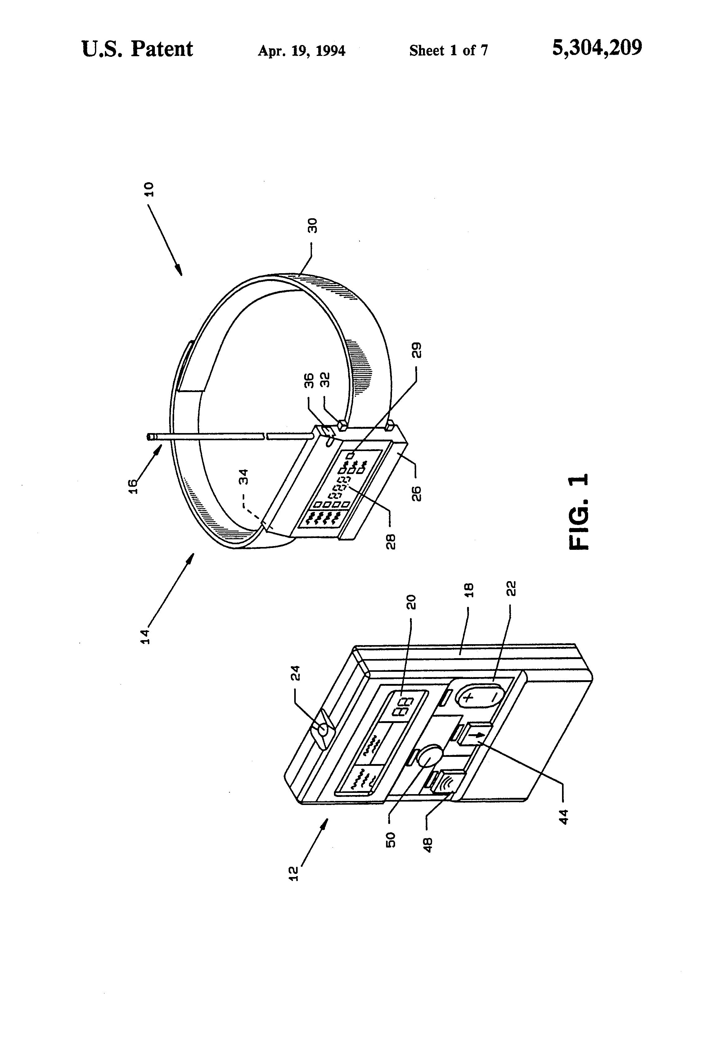 patent us5304209