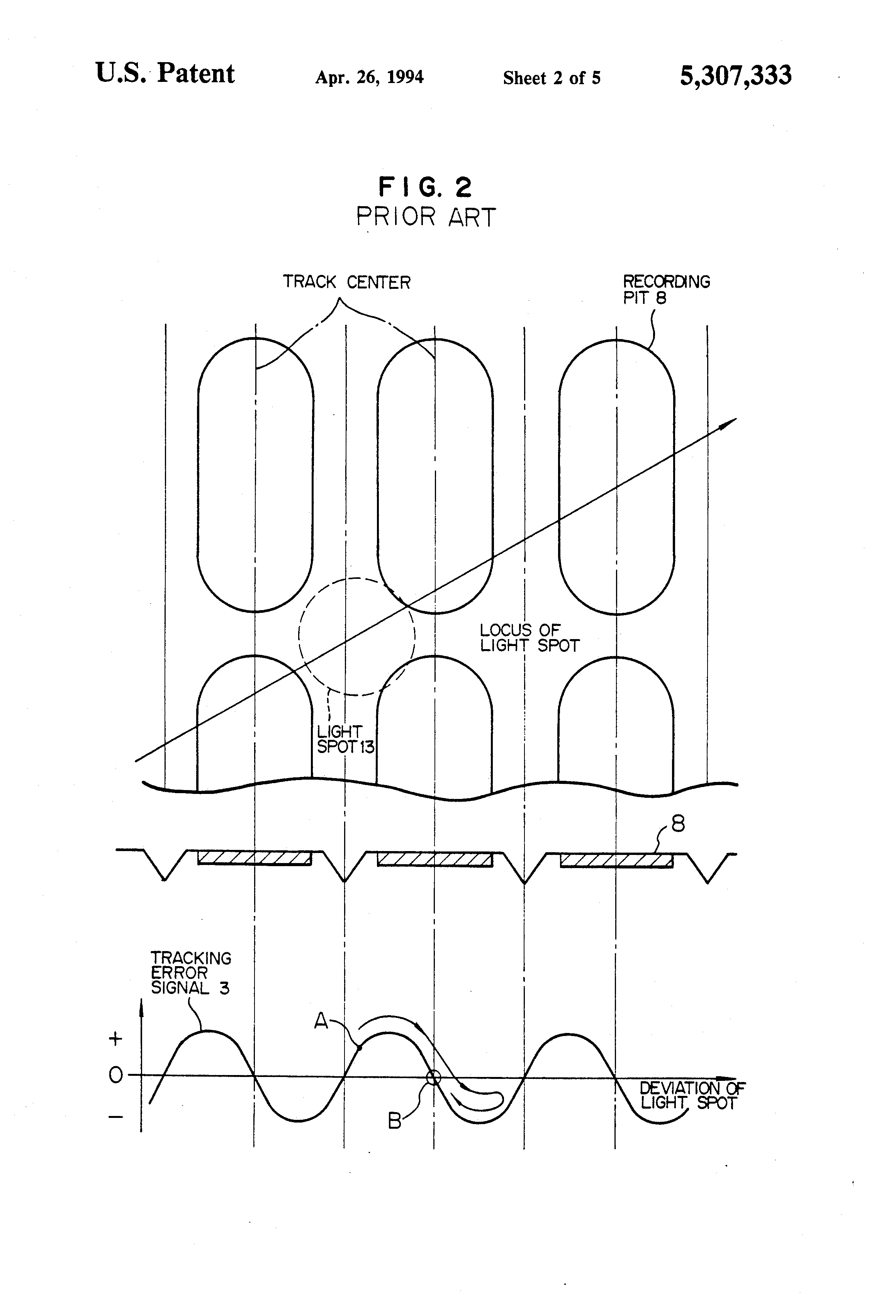 patent us5307333
