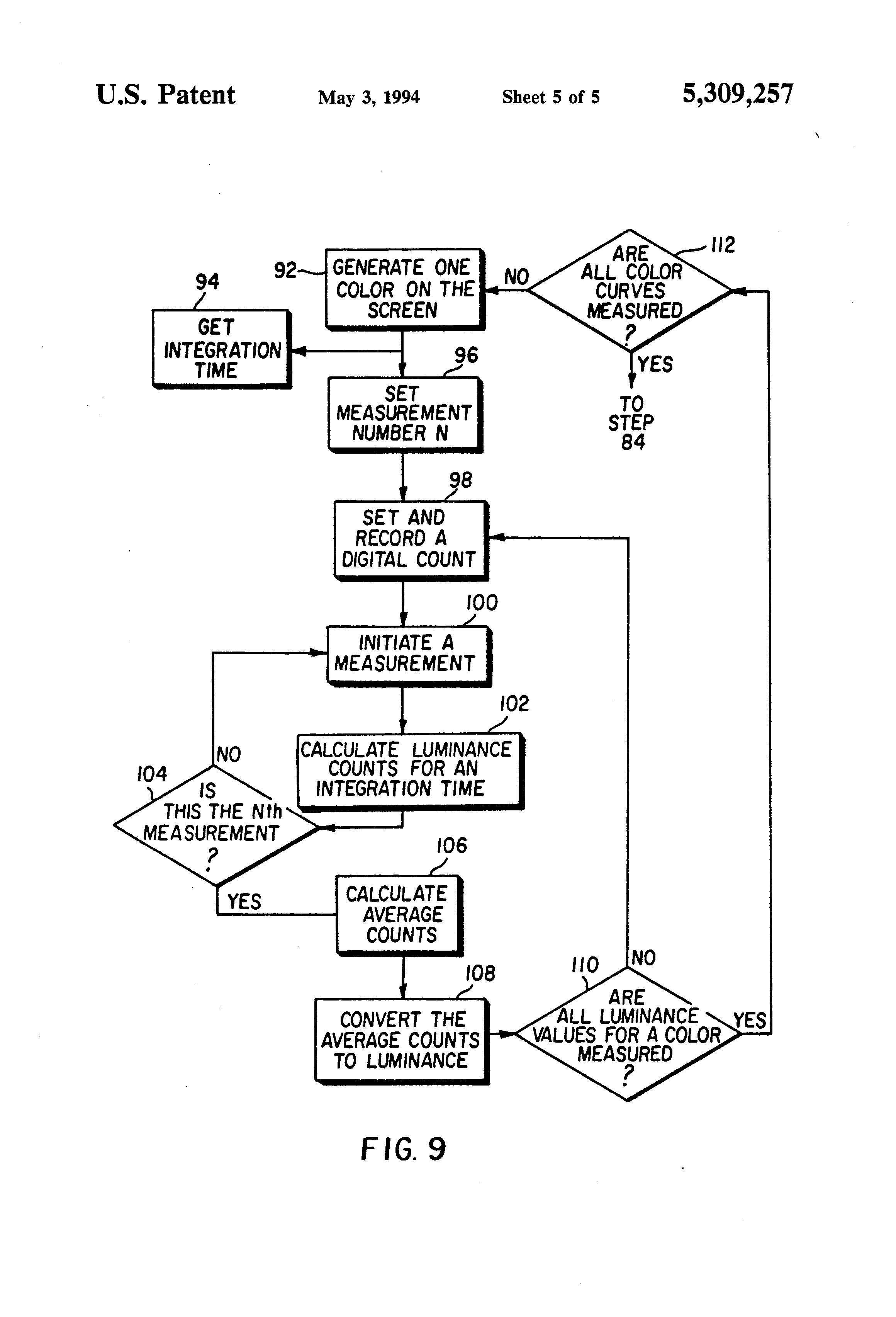 patent us5309257