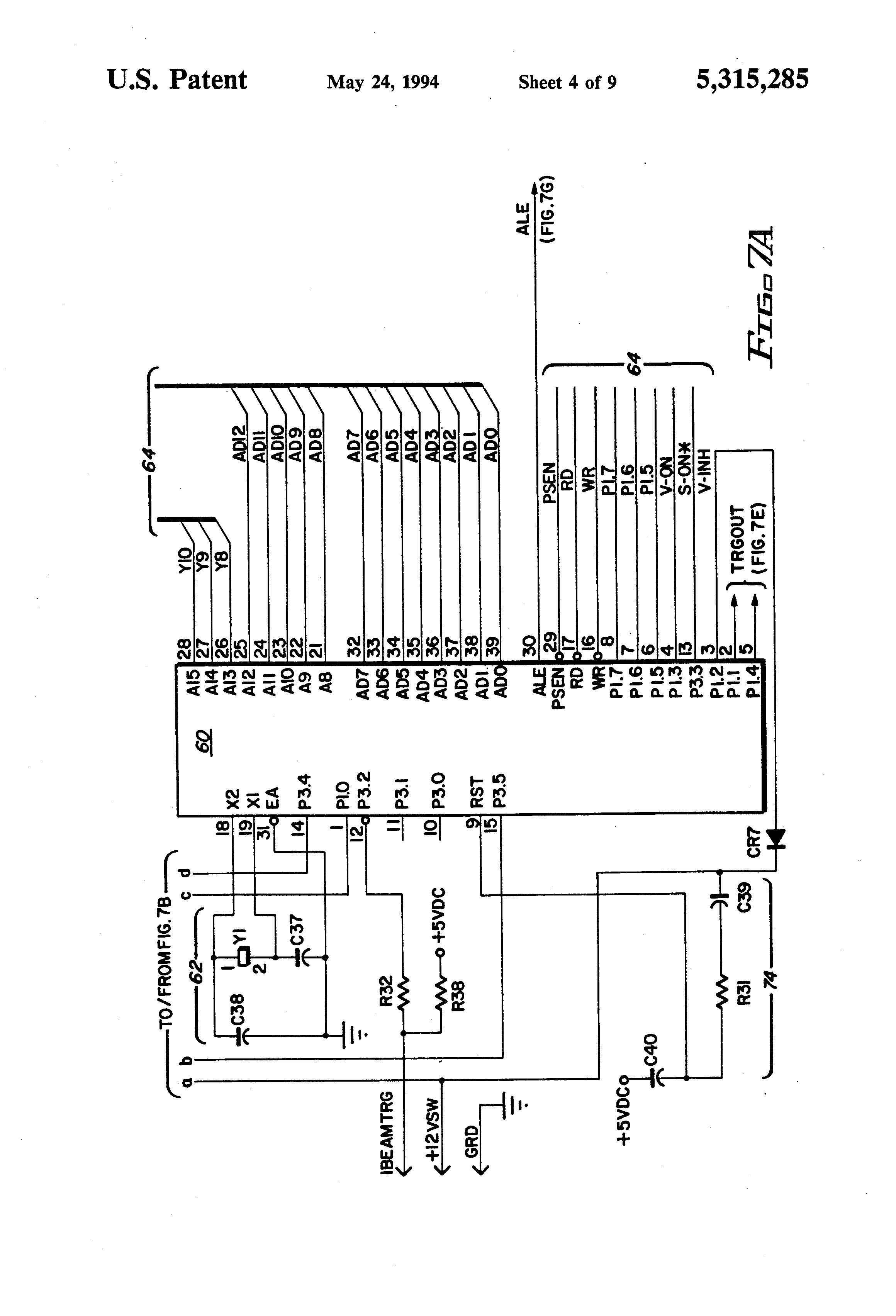 patent us5315285