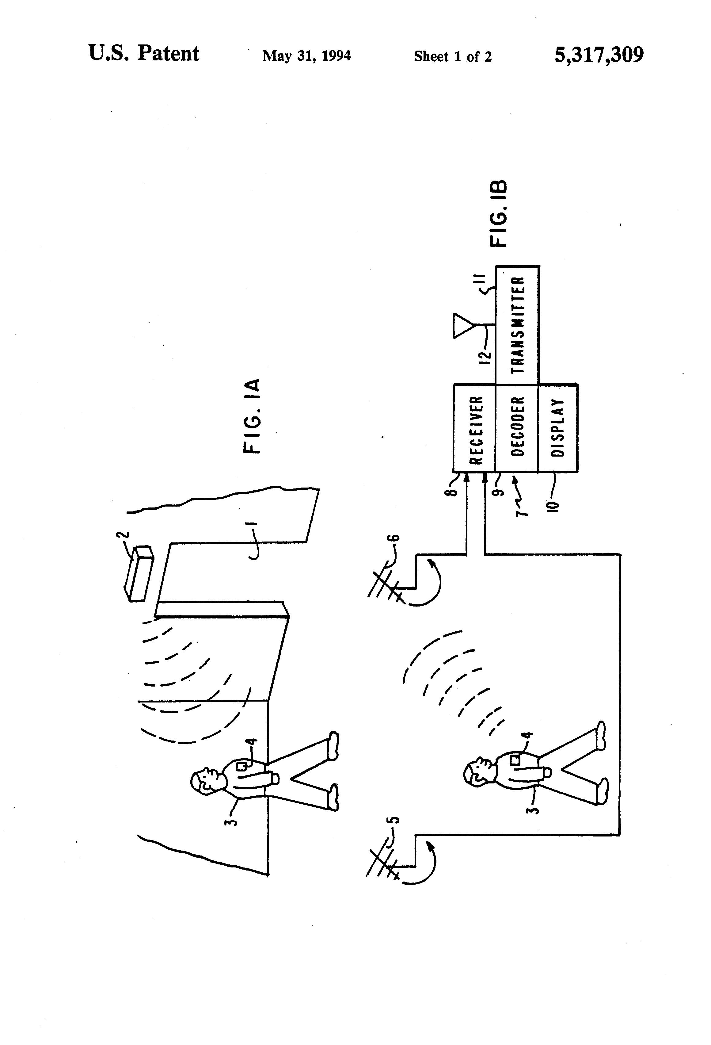 brevet us5317309