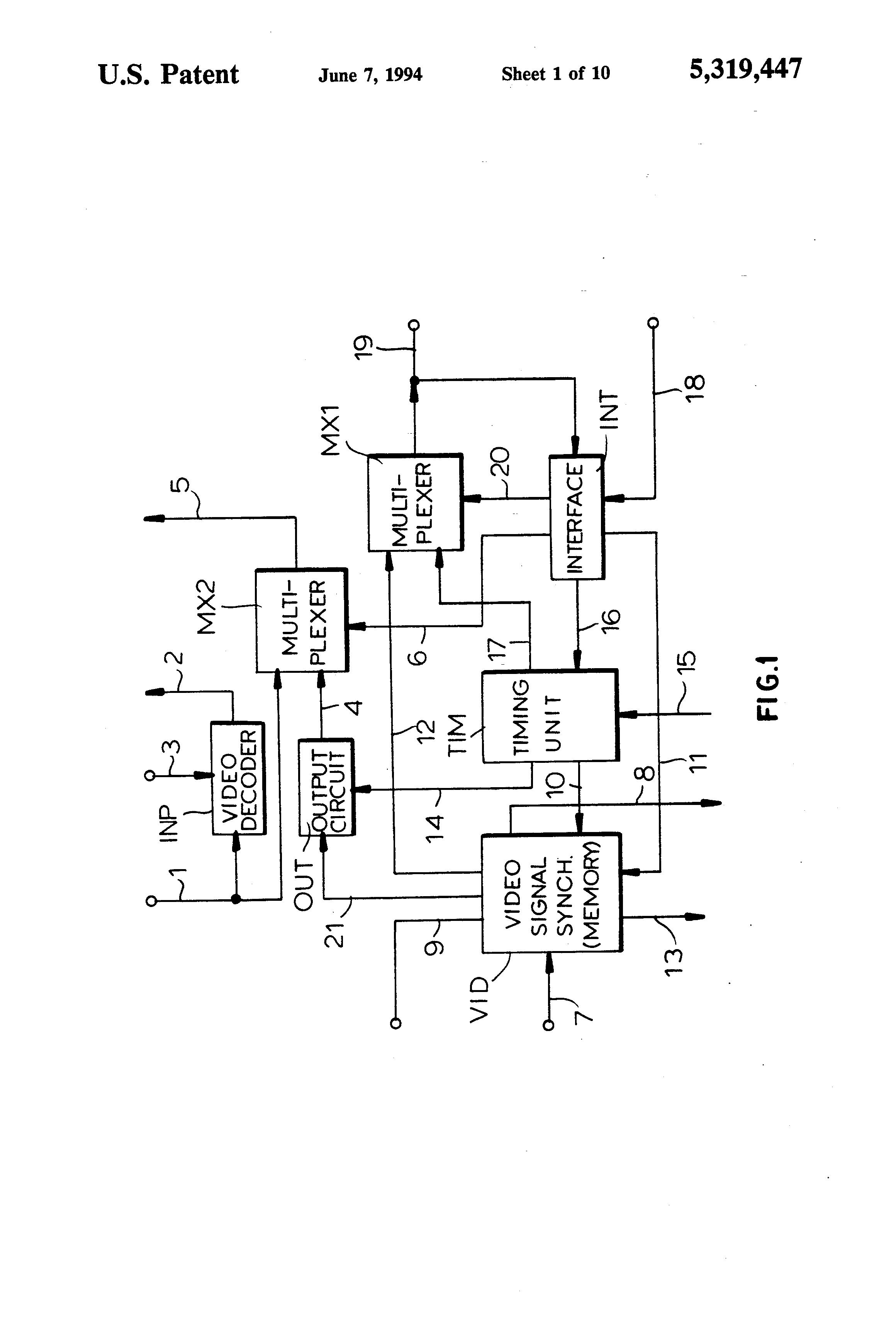 patent us5319447