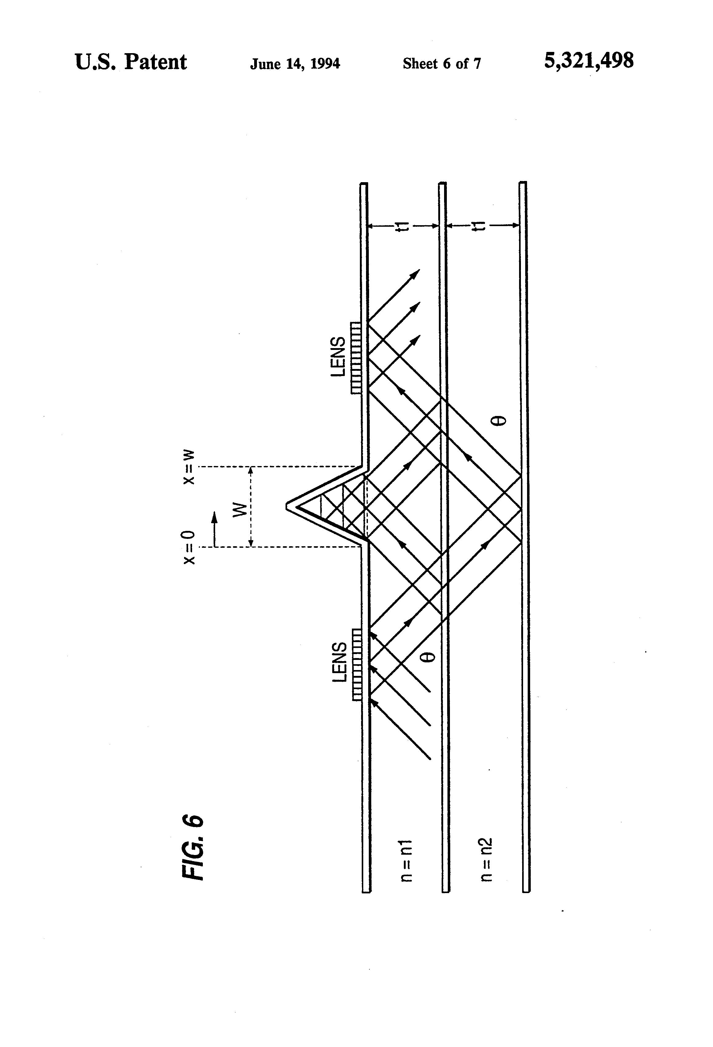 patent us5321498