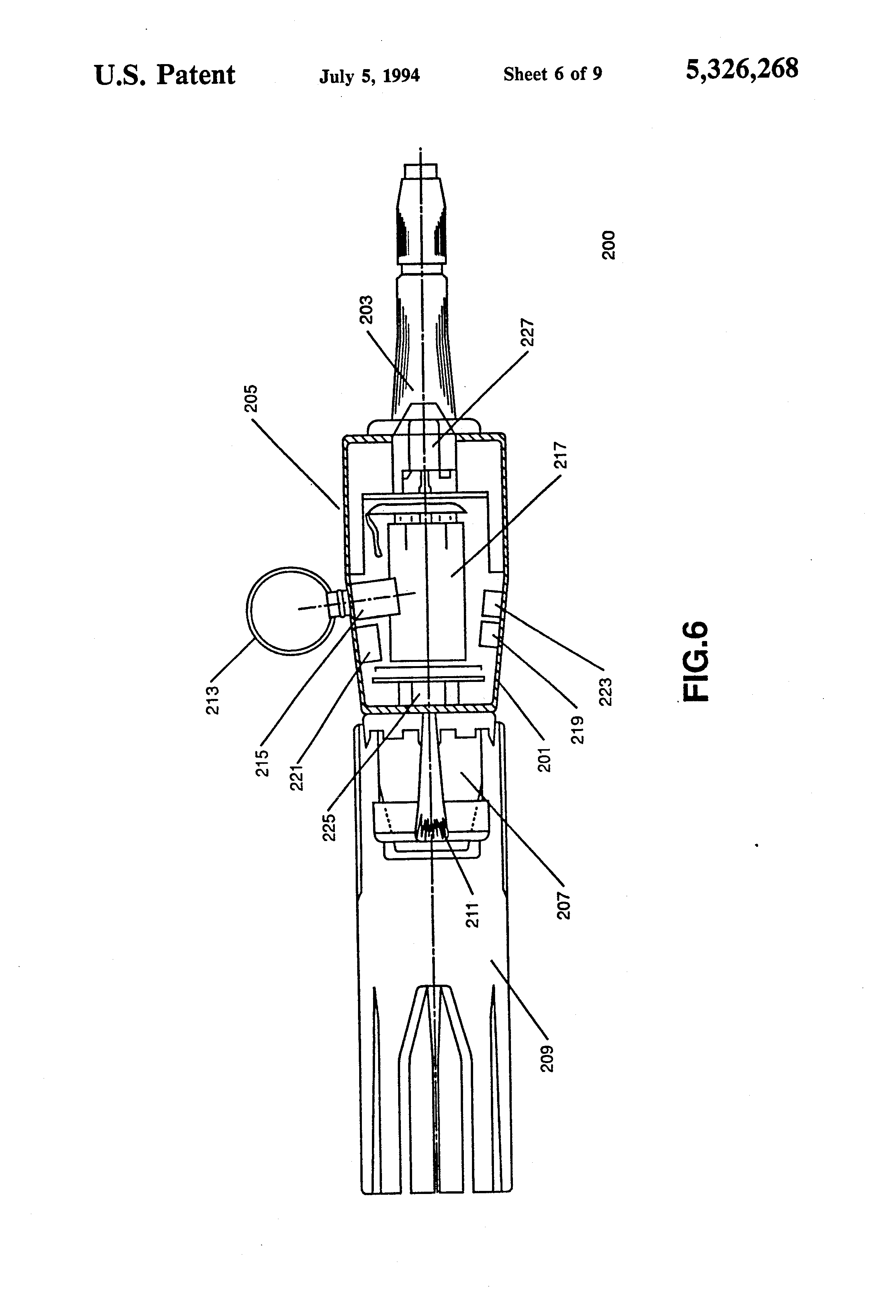 patent us5326268 training device for simulating an unexploded