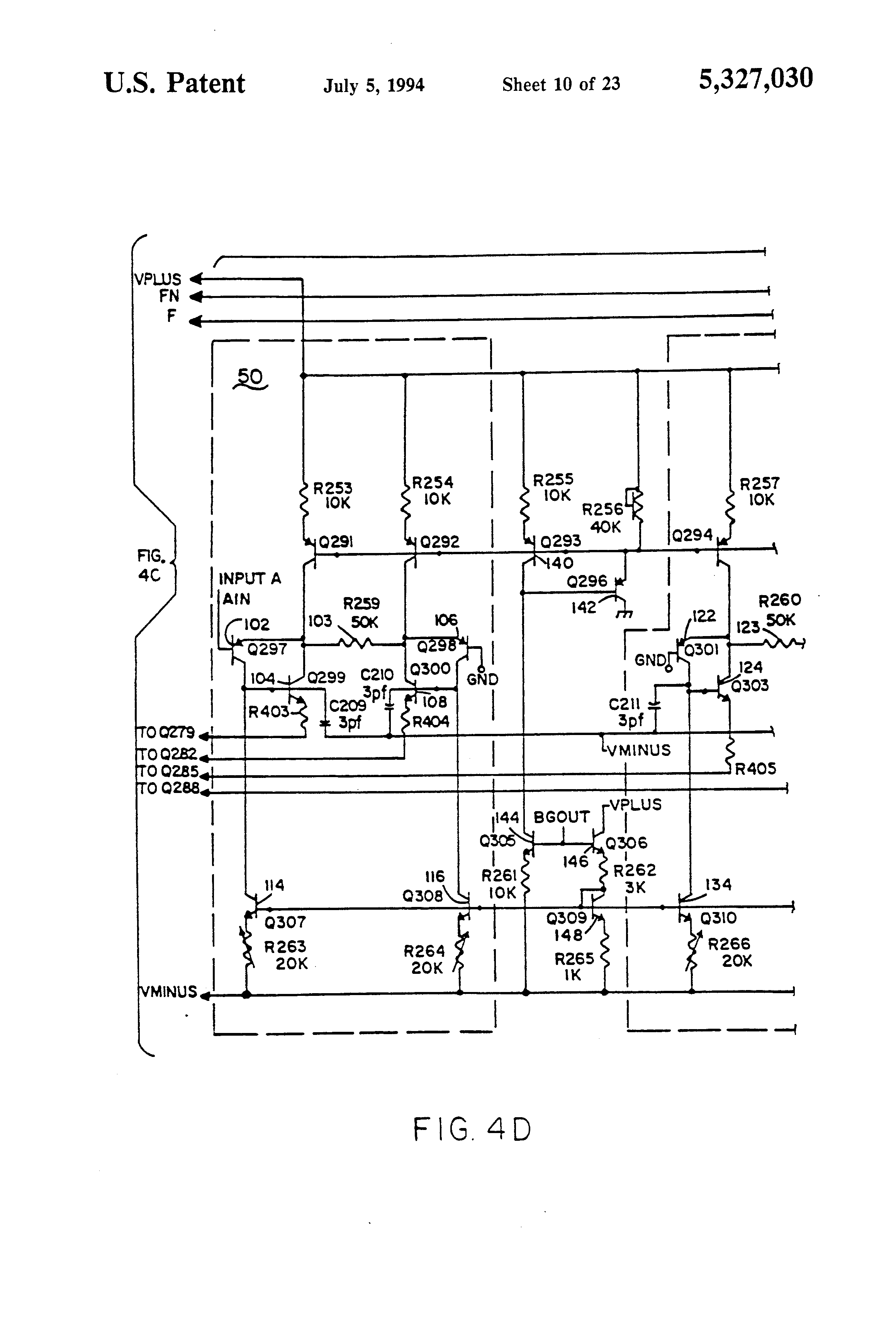 patent us5327030 - decoder and monolithic integrated circuit incorporating same