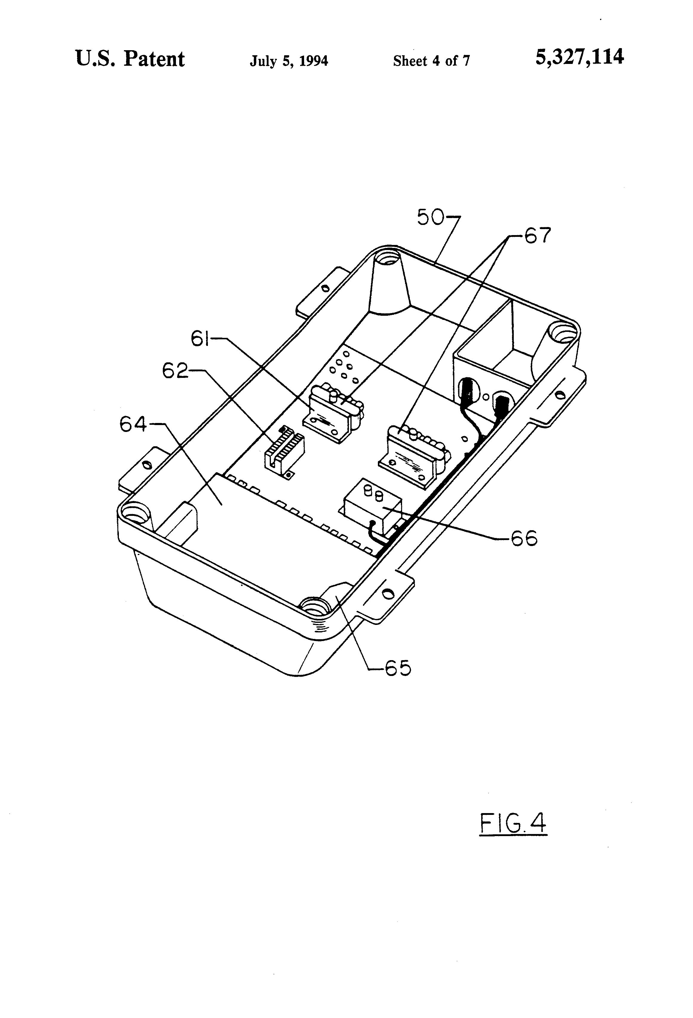 patent us5327114