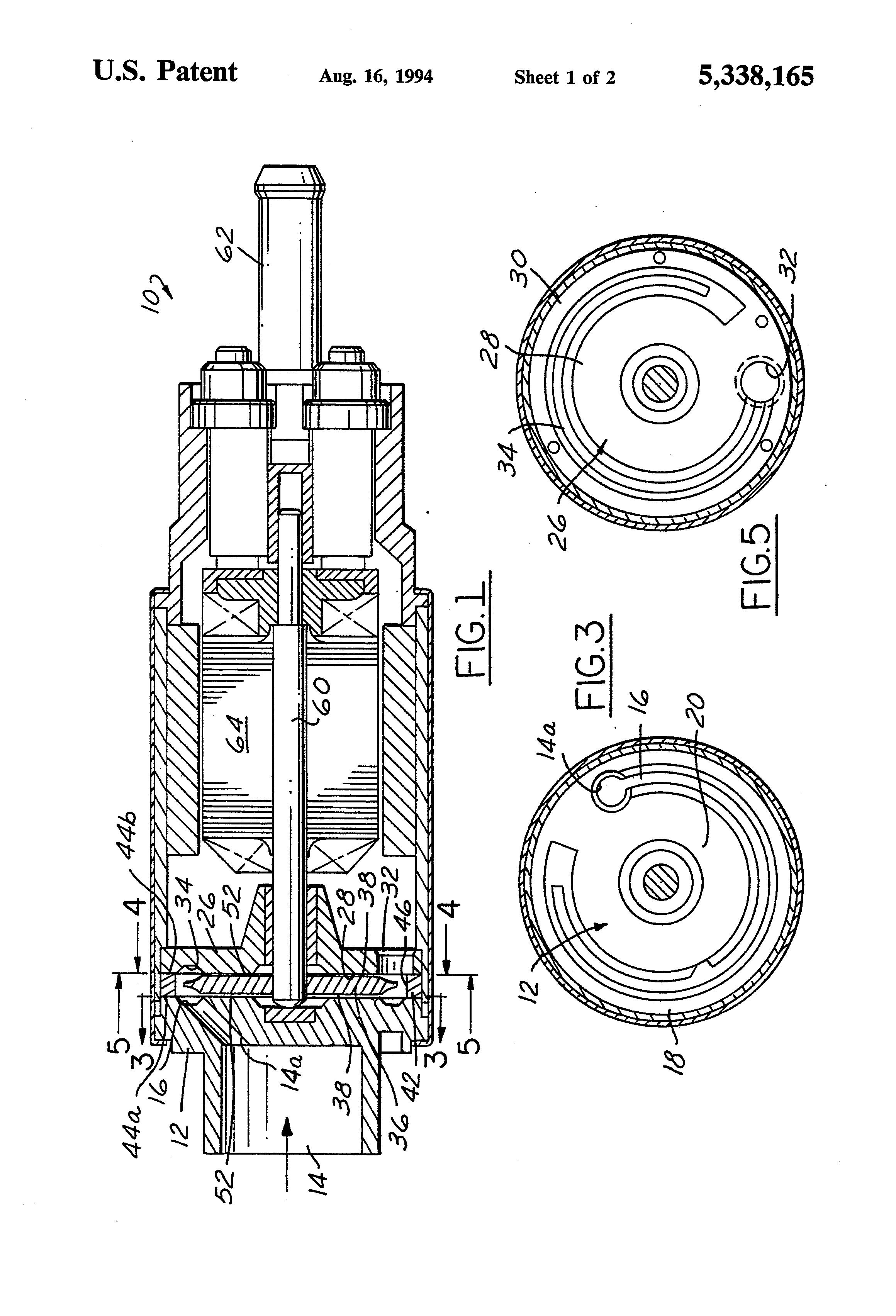 patent us5338165