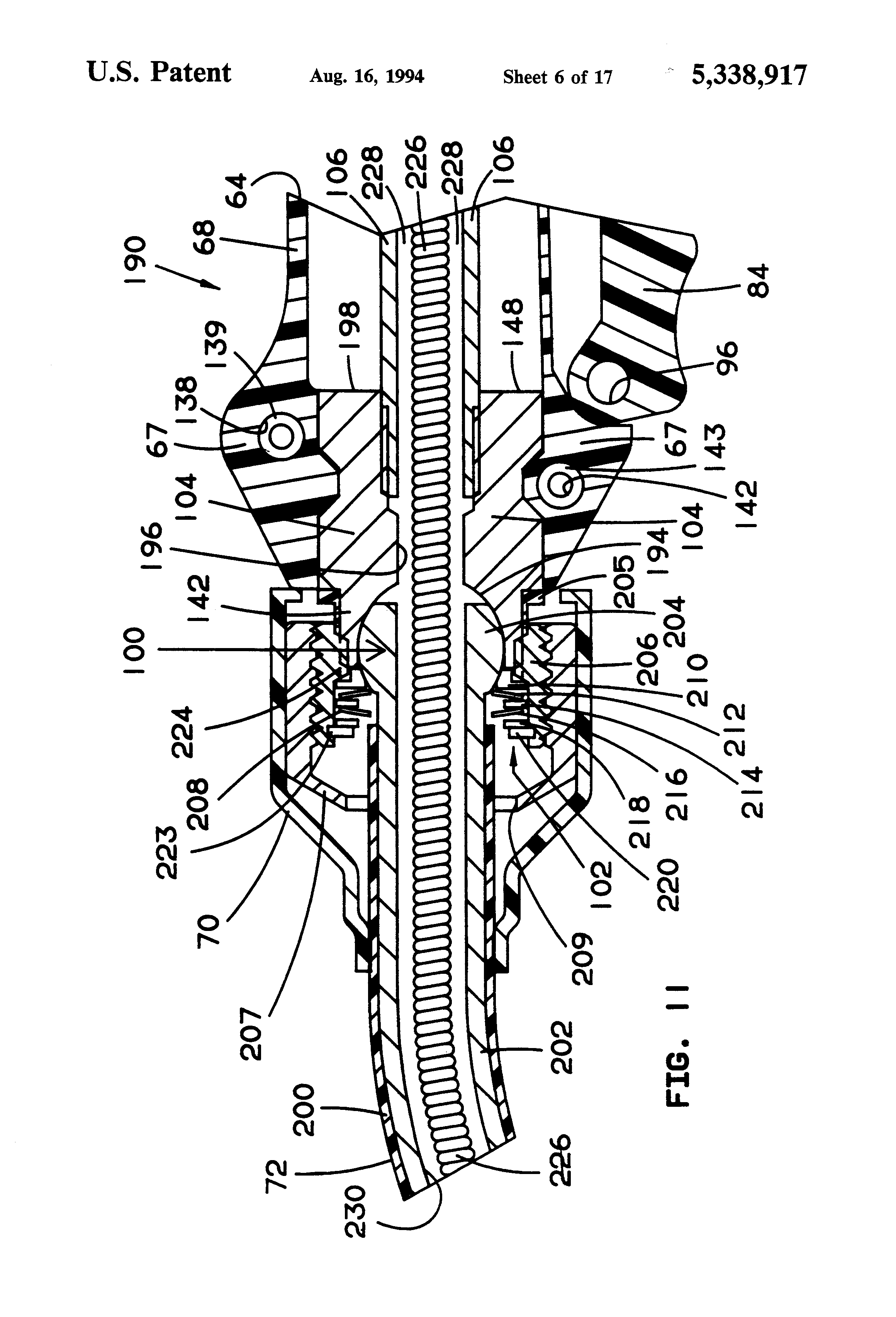 patent us5338917