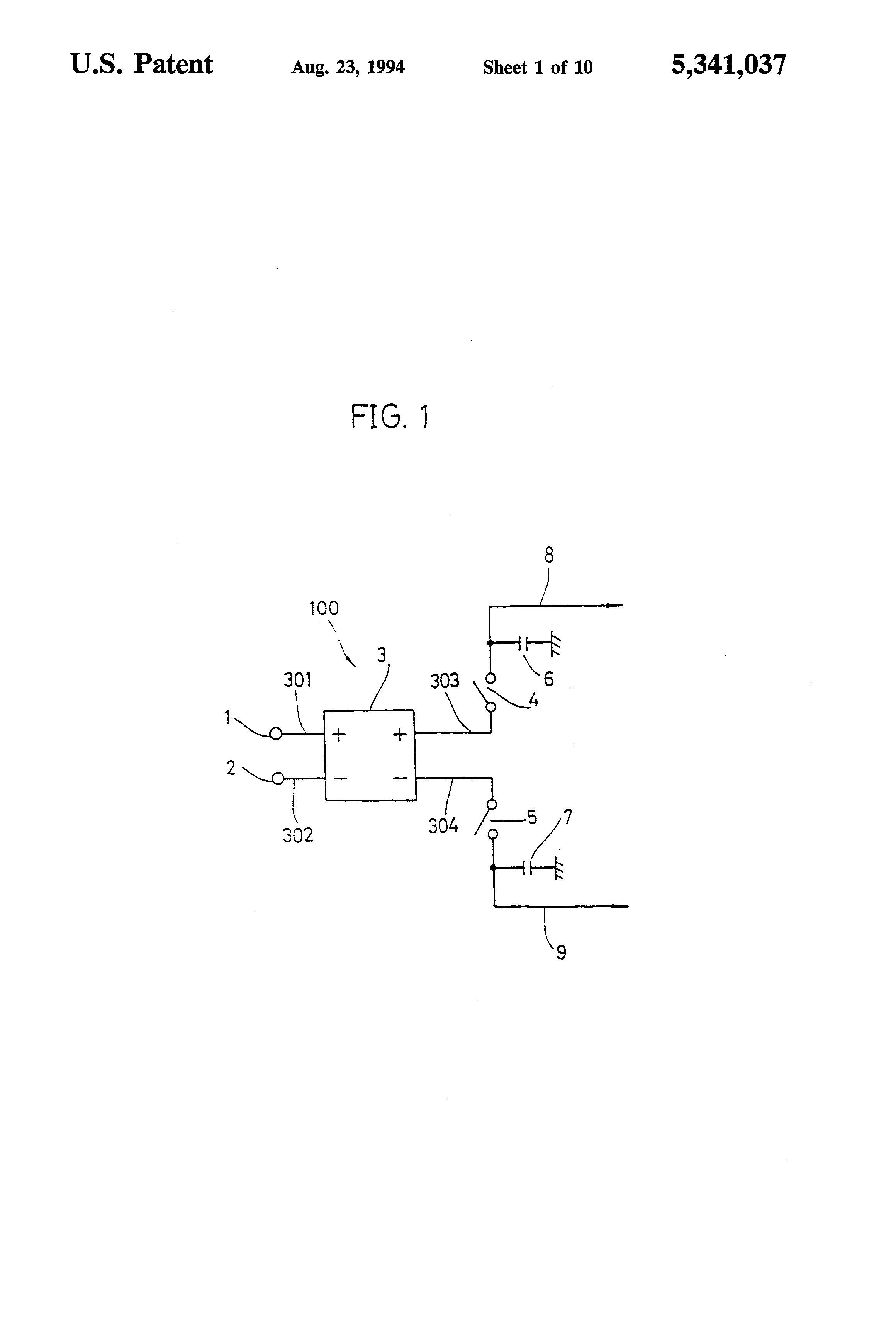 Patent US5341037 - Sample hold circuit, buffer circuit and sample