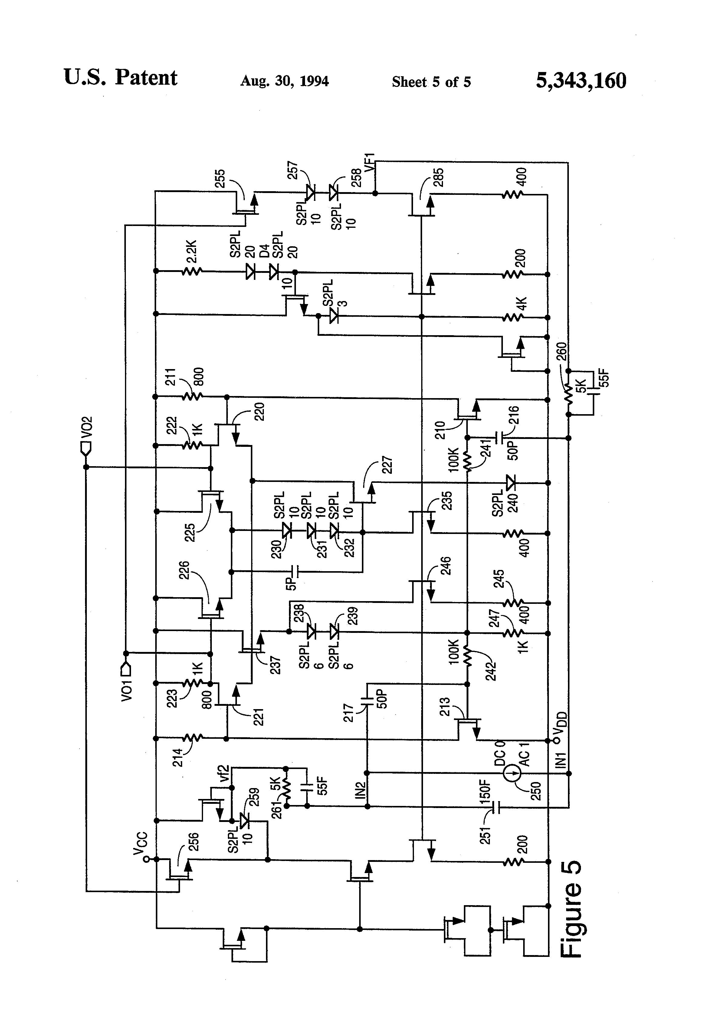 patent us5343160