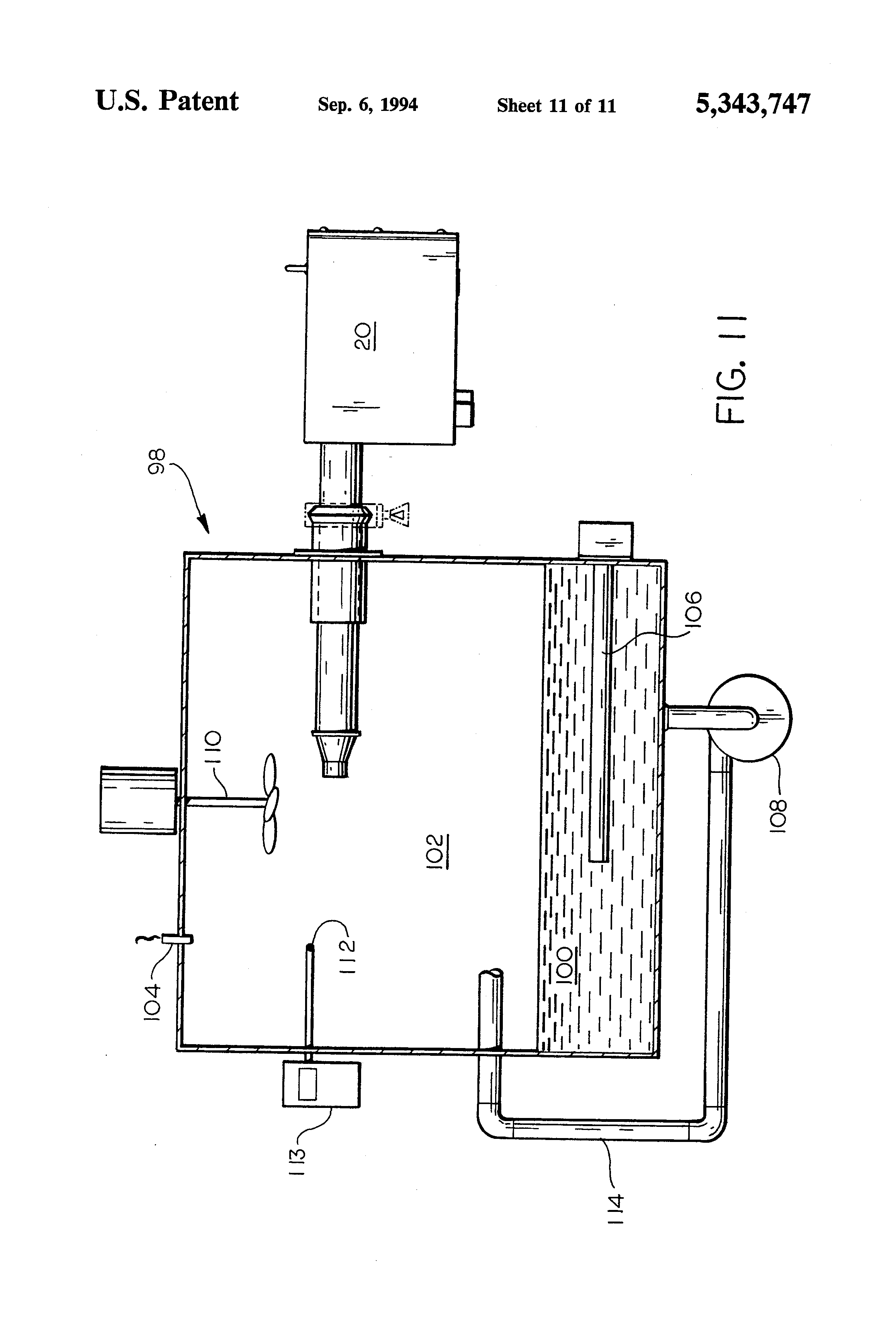 patent us5343747 - normalized relative humidity calibration