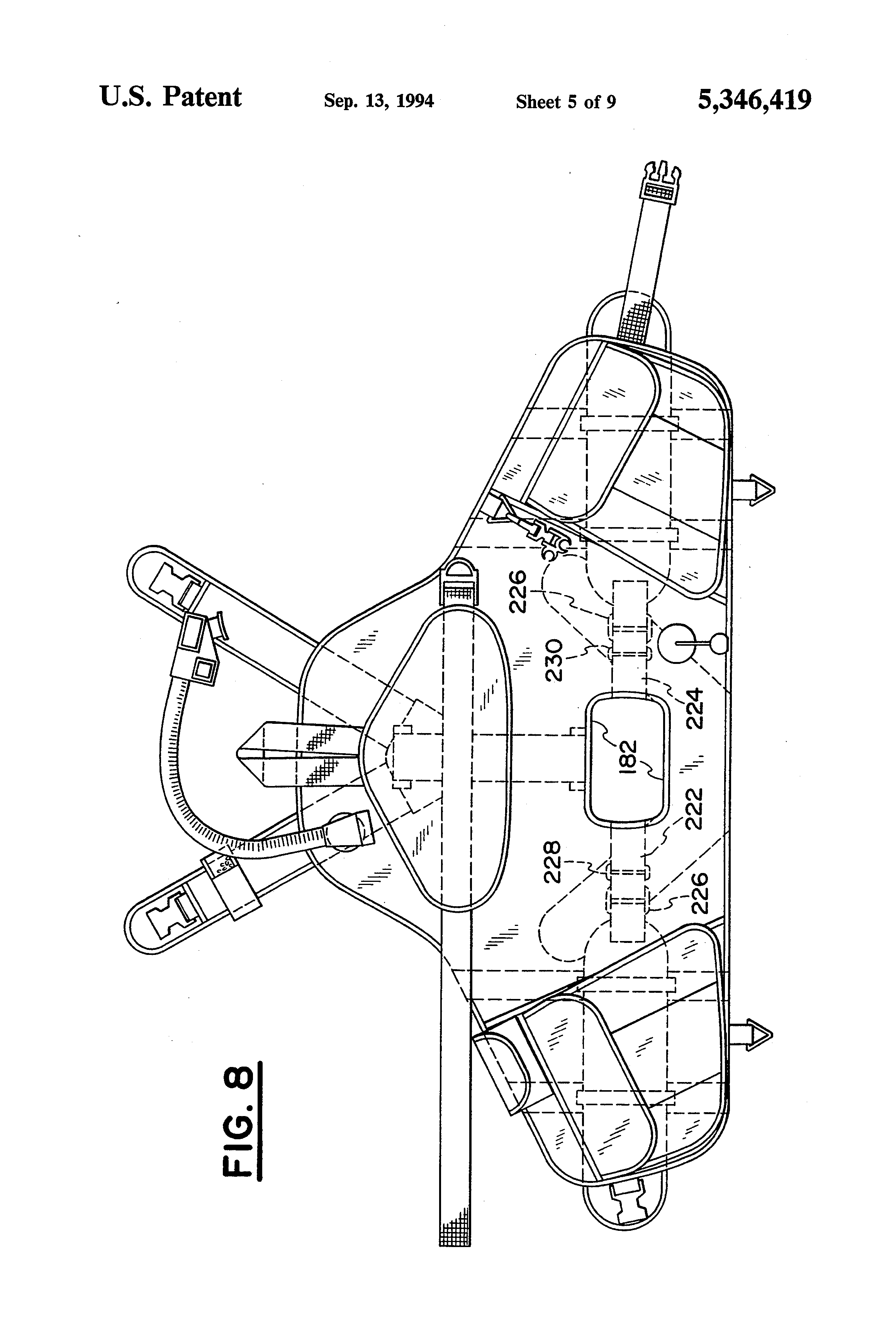 Patent Us5346419 Buoyancy Compensator Device With