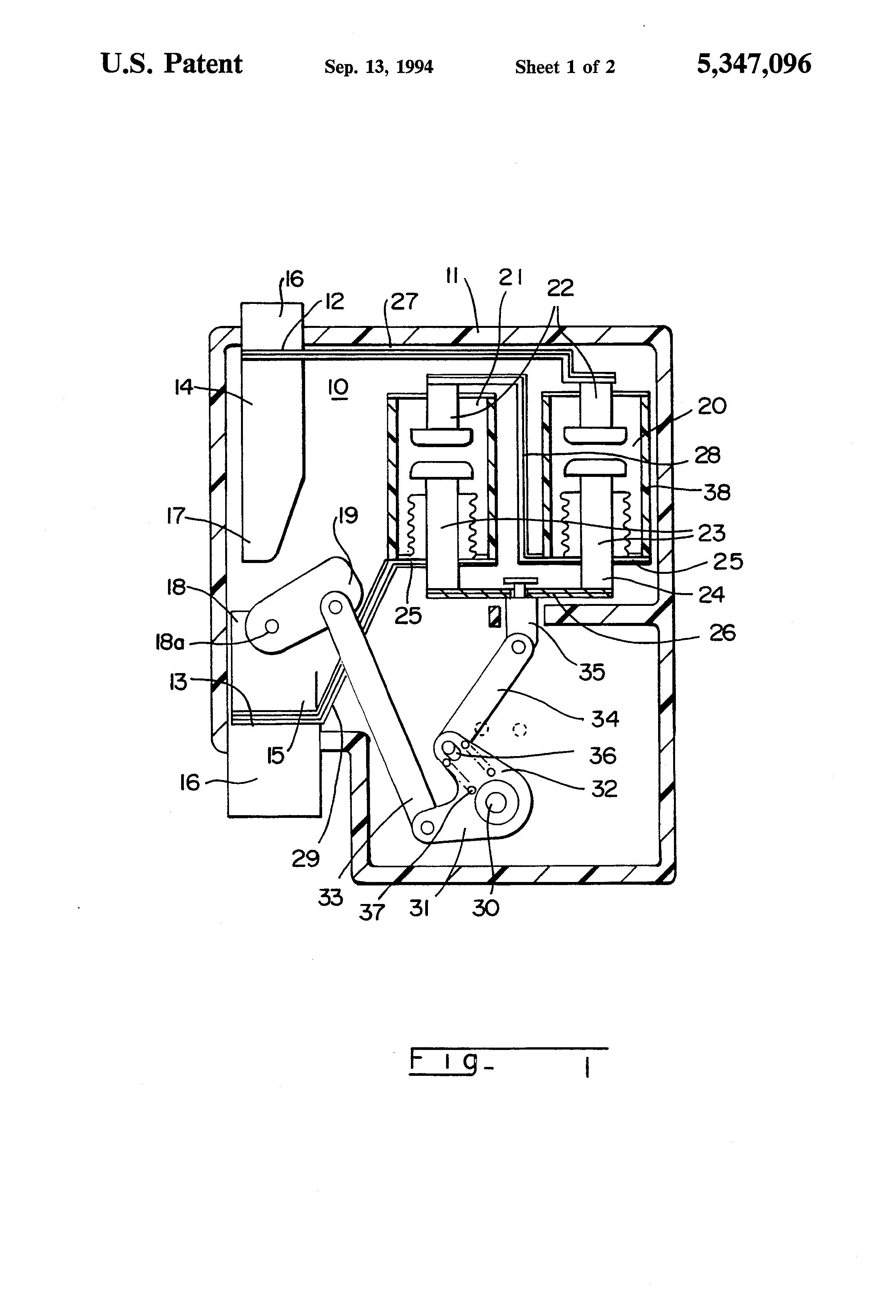 patent us5347096