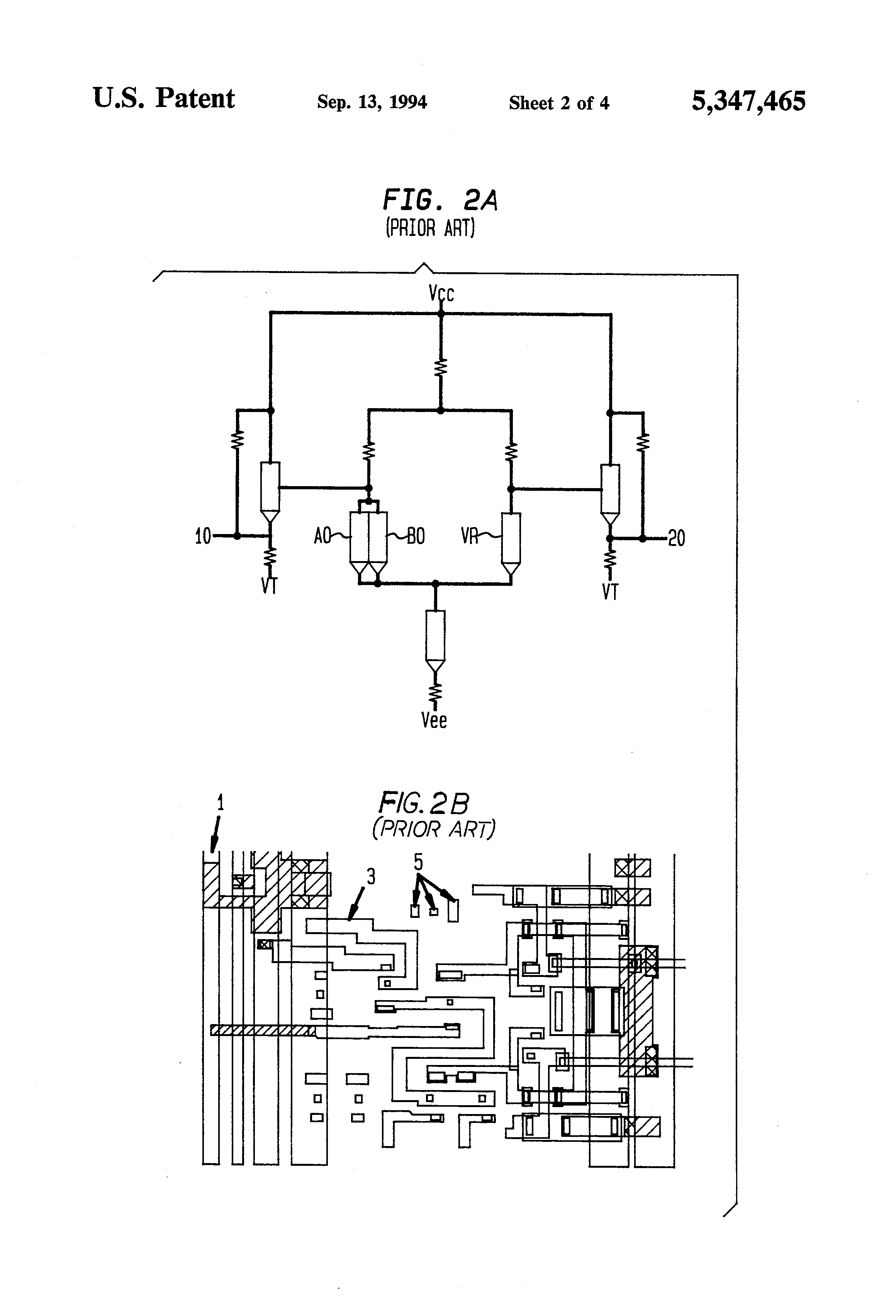 patent us5347465 - method of integrated circuit chips design