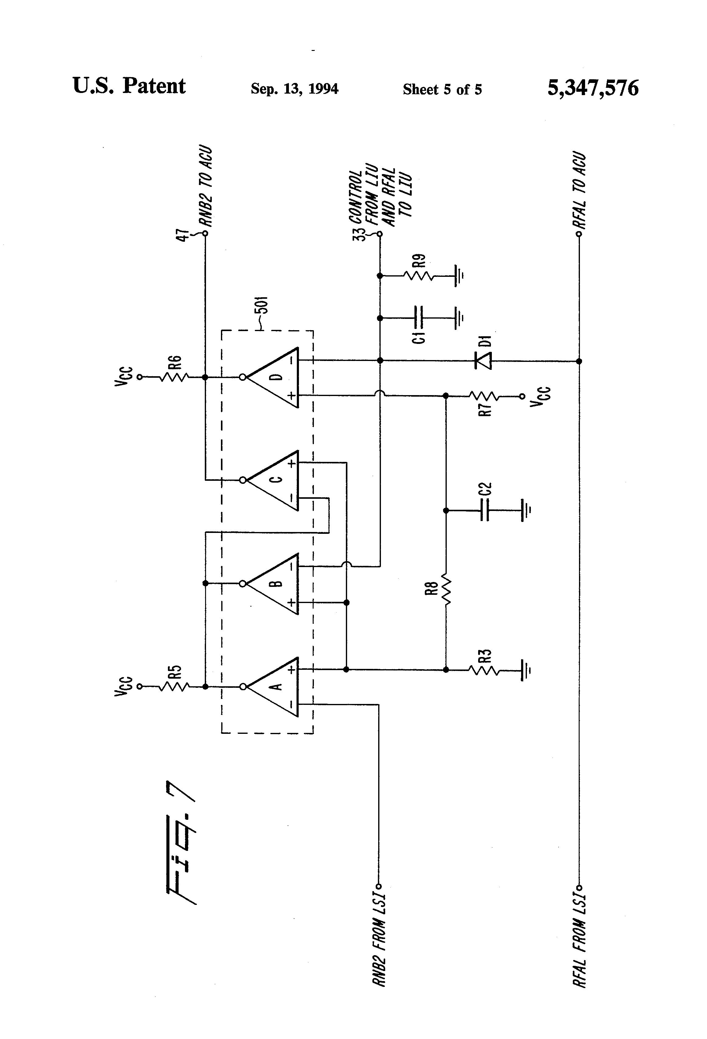 patent us5347576
