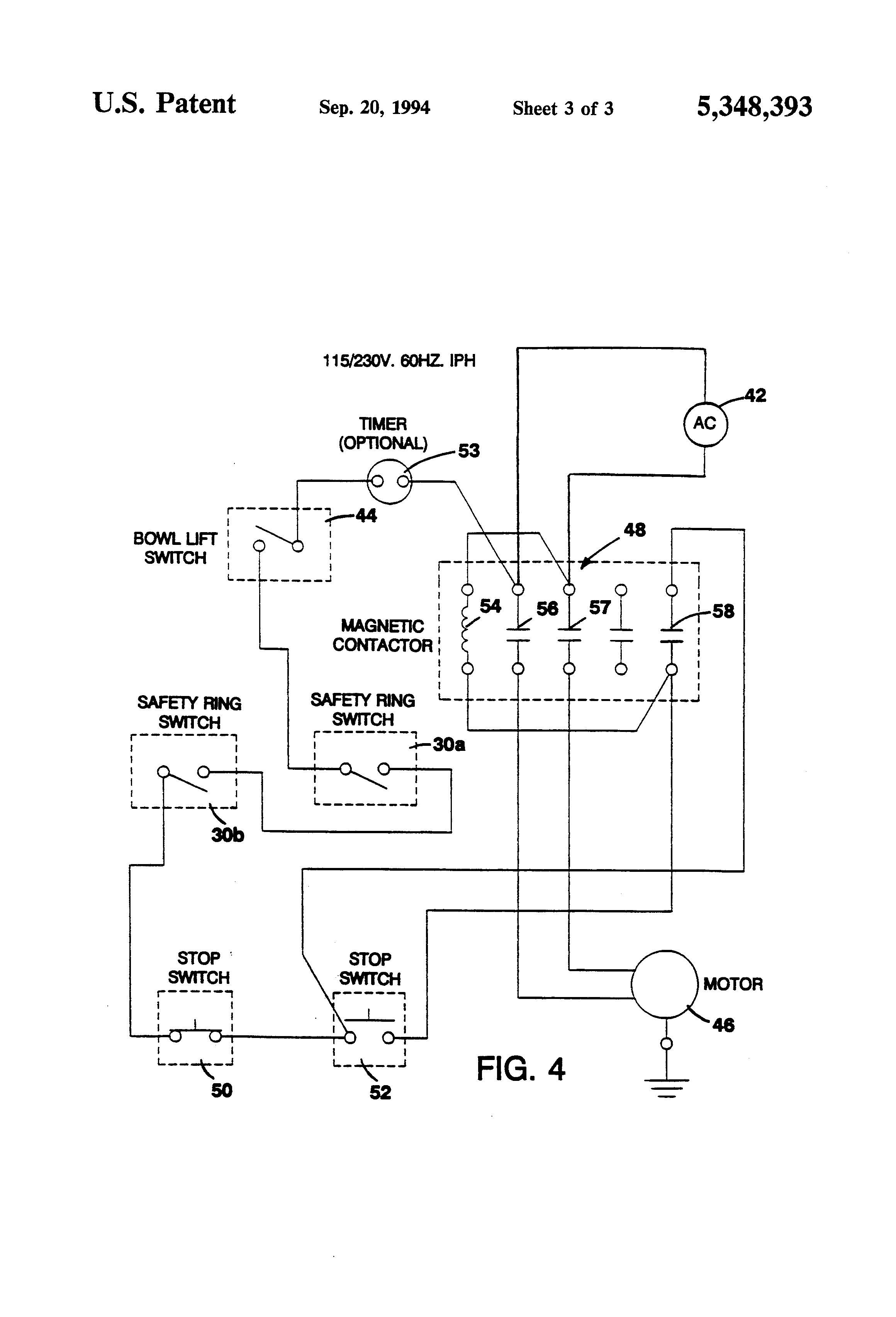 Hobart Rc 250 Wiring Diagram Library Diagrams Mesmerizing Old Mixer Single Phase Motor