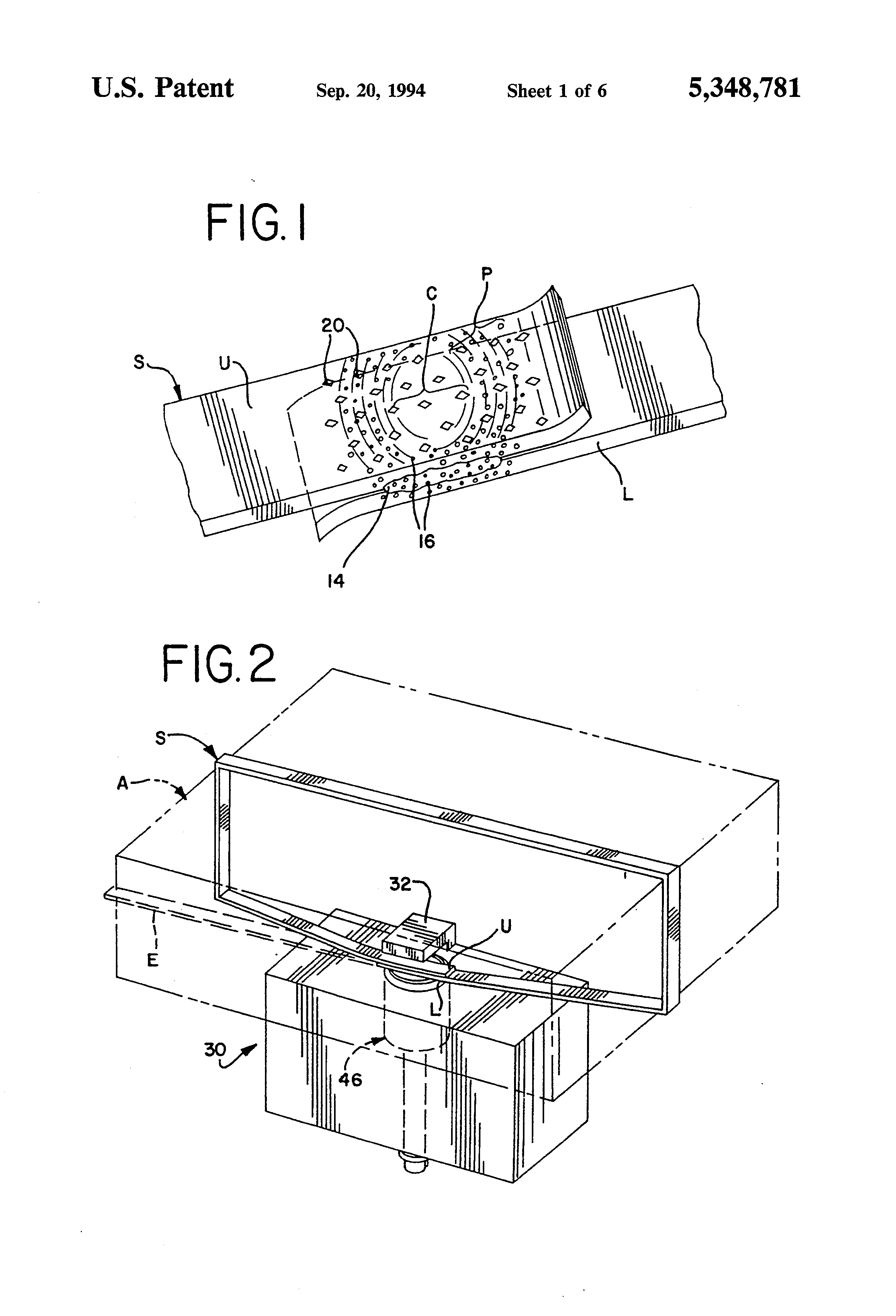 Patent US5348781 - Method and apparatus for producing a