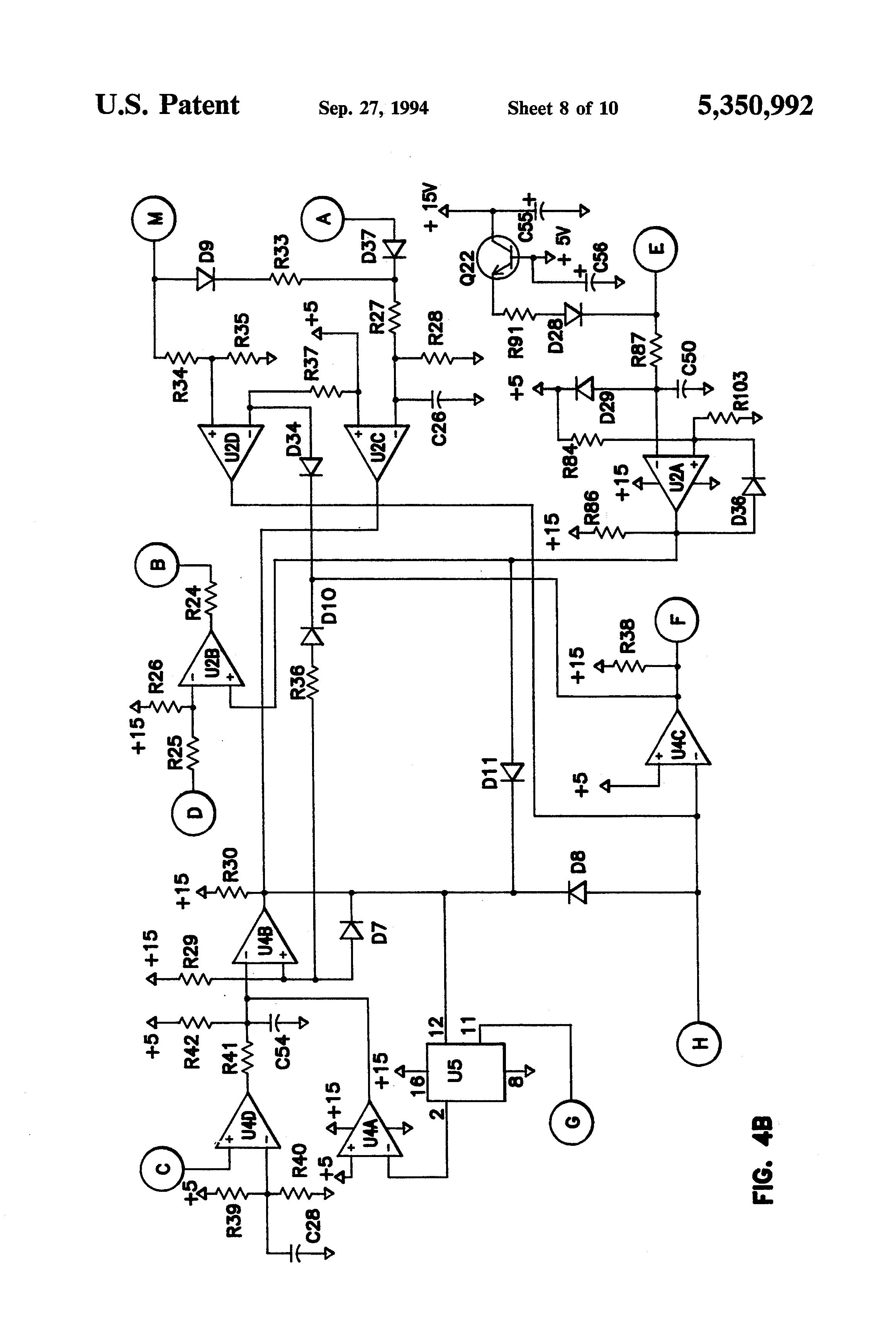patent us5350992 - motor control circuit