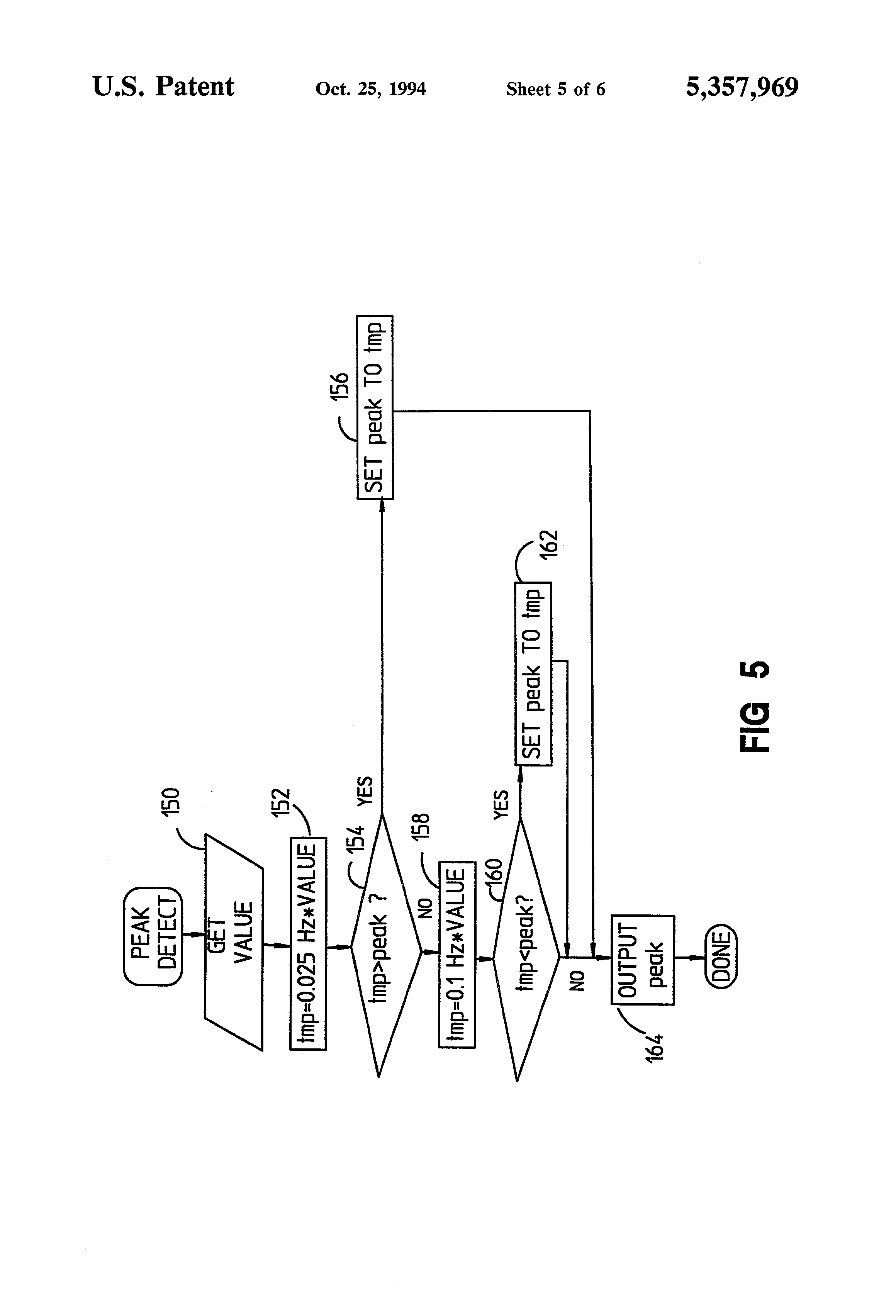 patent us5357969 - method and apparatus for accurately displaying an ecg signal