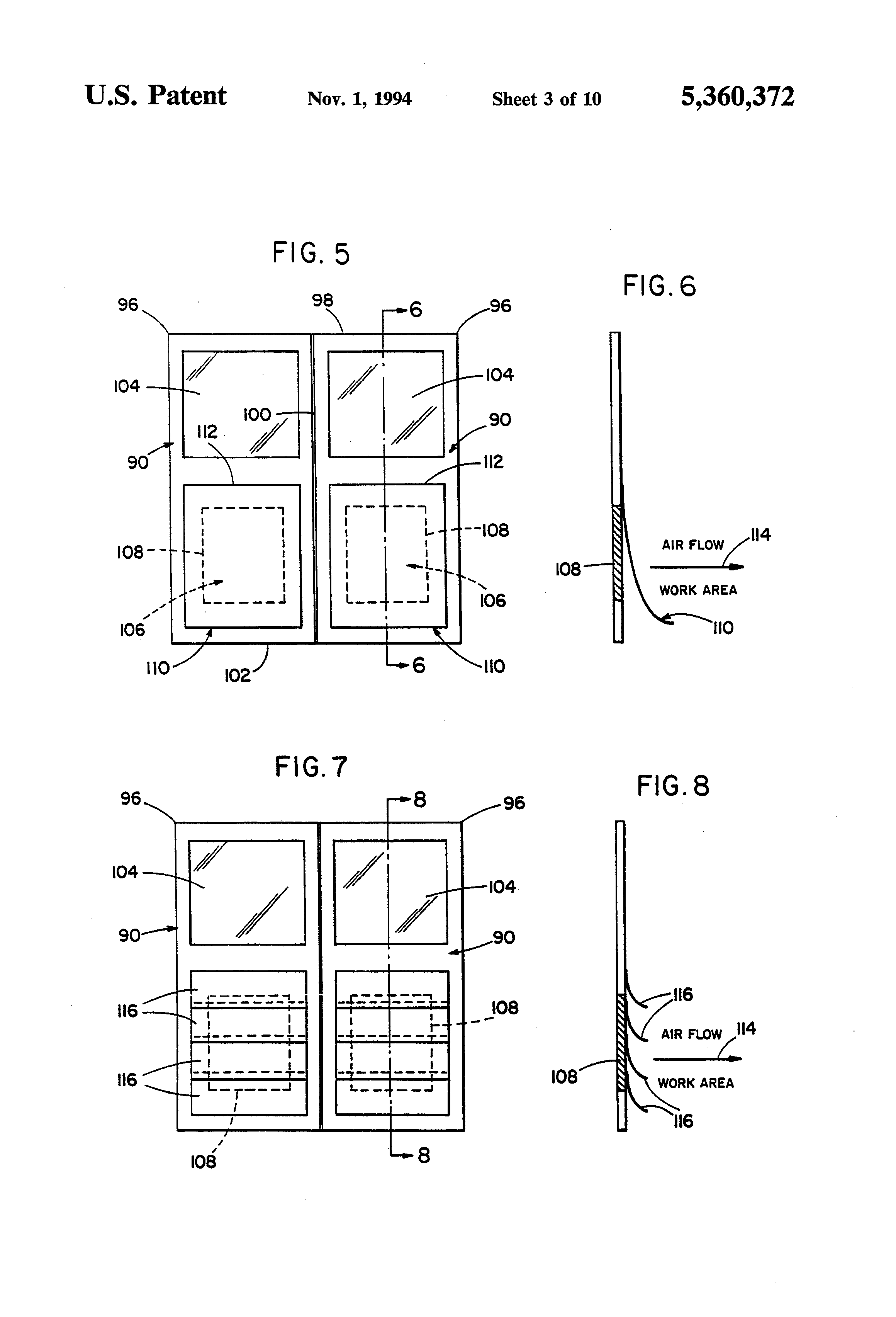 Patent Us5360372 Control System For Doors Of A Negative